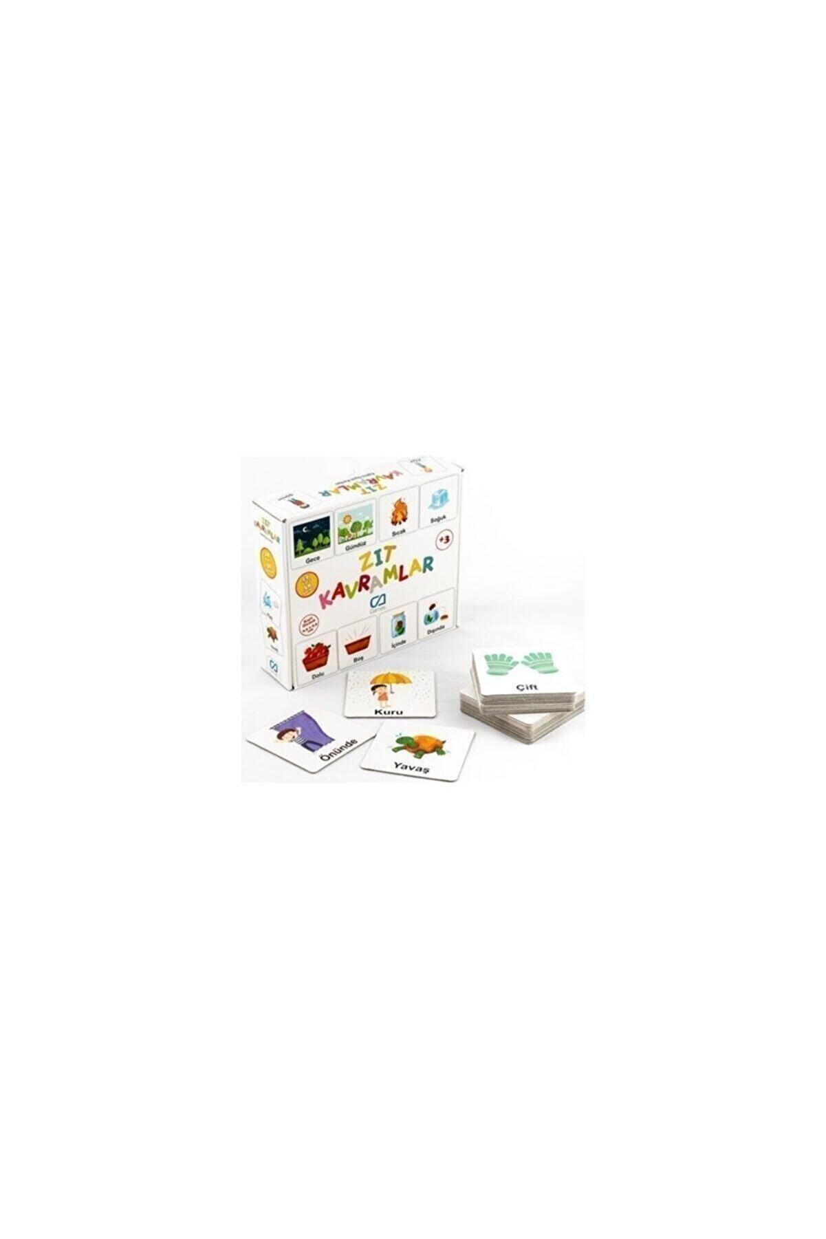 CA Games Zıt Kavramlar Eğitici Oyun Kartları Ca.5045
