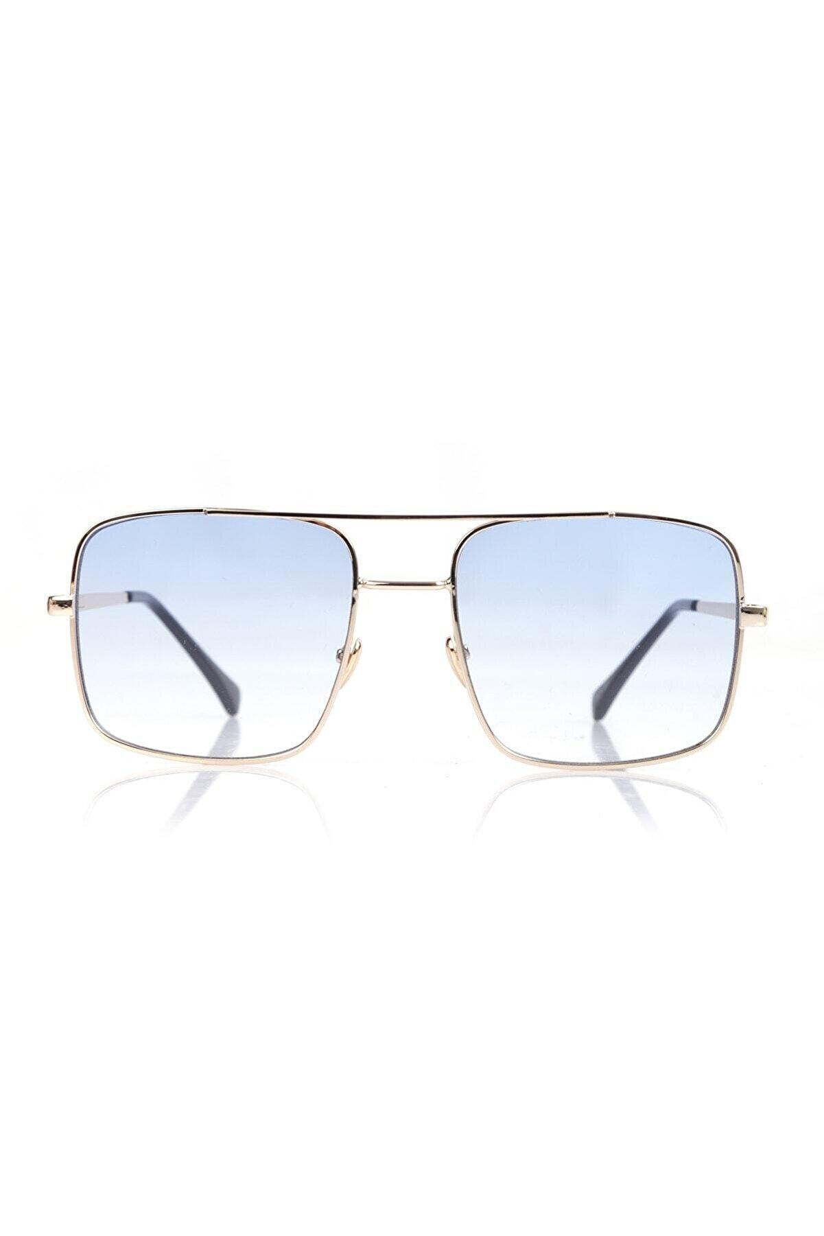 Nilu Moda Reynmen Unisex Pilot Model Güneş Gözlüğü Mavi