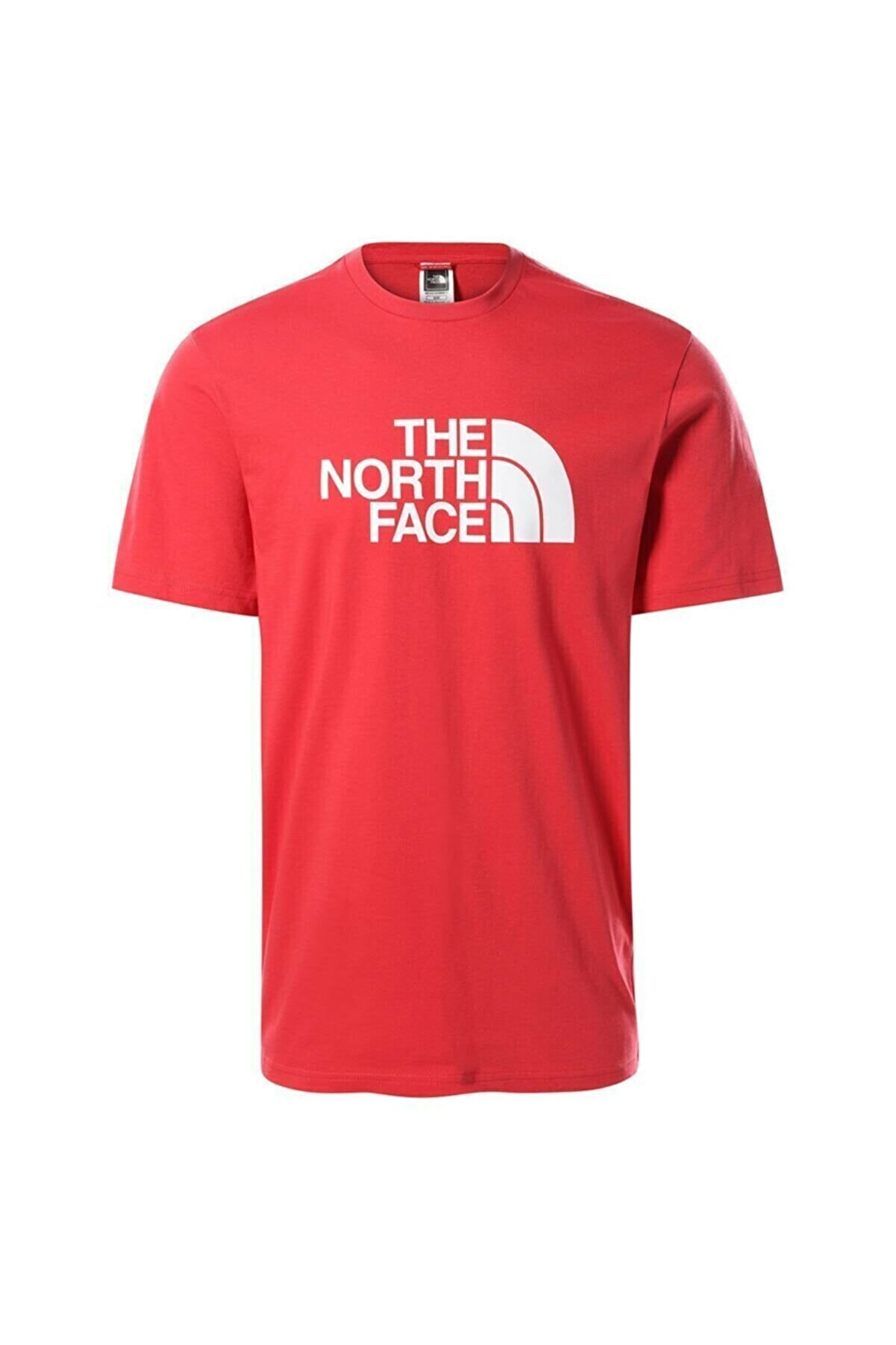 The North Face M S/s Easy Tee - Eu Erkek Kırmızı Tshirt Nf0a2tx3v341