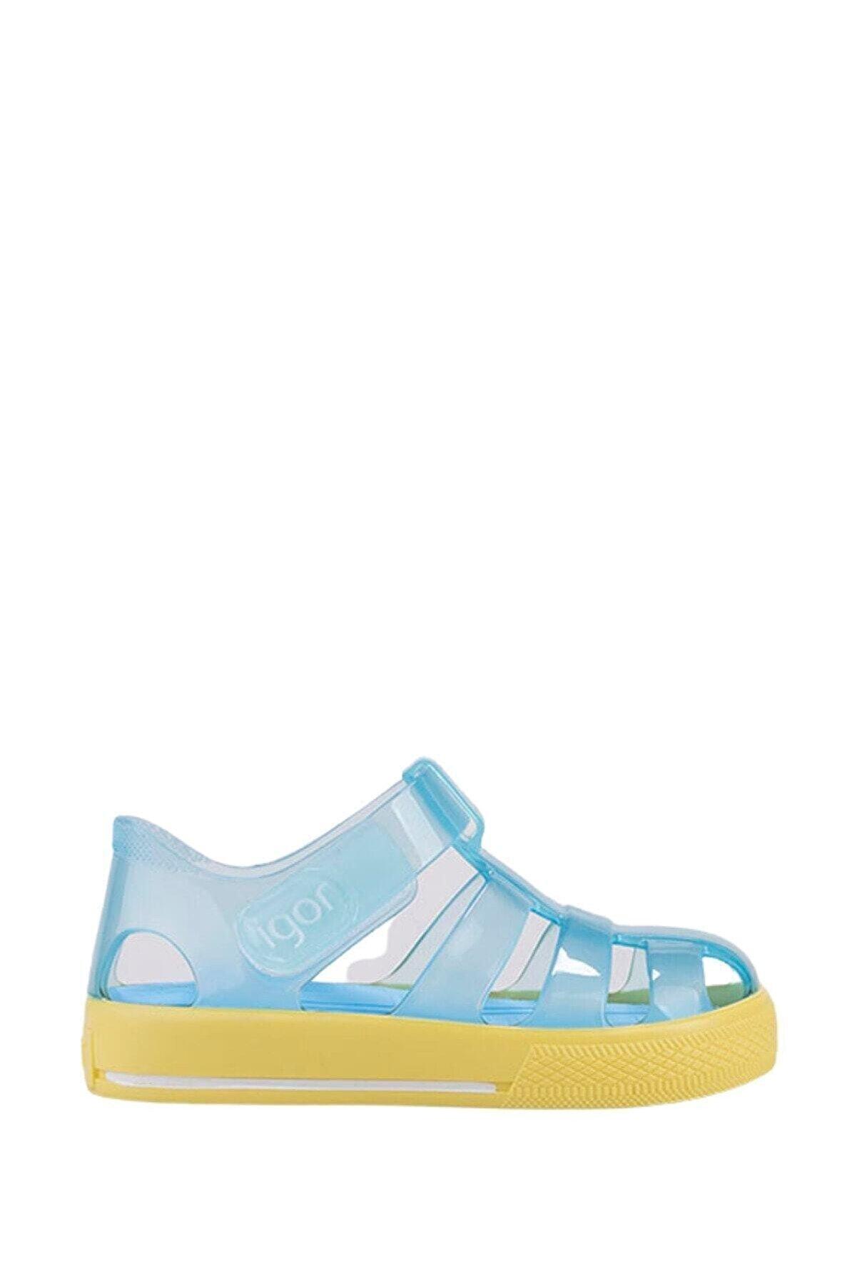 IGOR Unisex Çocuk Mavi Sandalet
