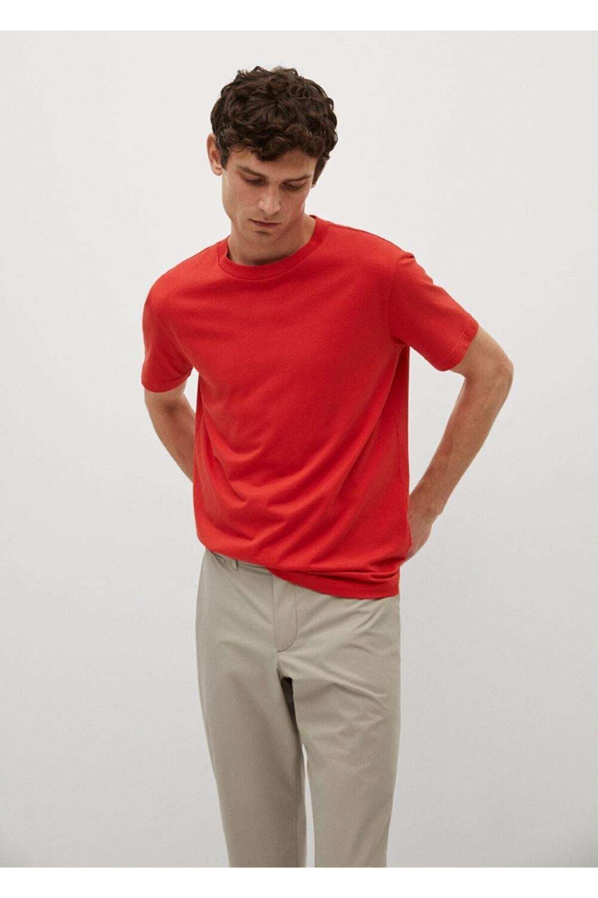 Mango Sürdürülebilir Pamuklu Basic Tişört