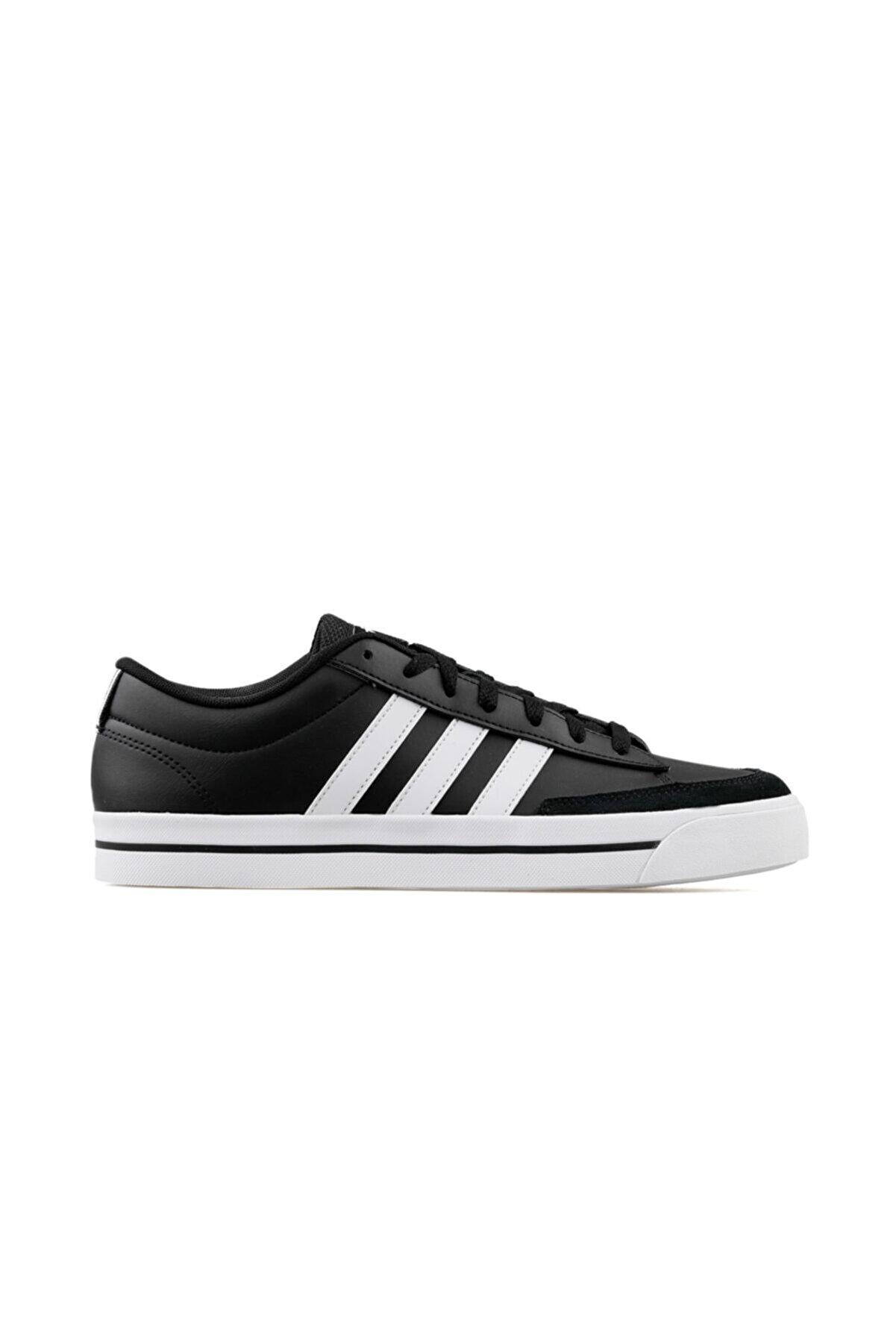 adidas Retrovulc Erkek Günlük Ayakkabı H02210 Siyah