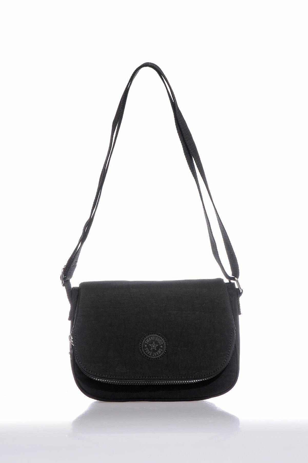 Smart Bags Smb3056-0001 Siyah Kadın Çapraz Çanta