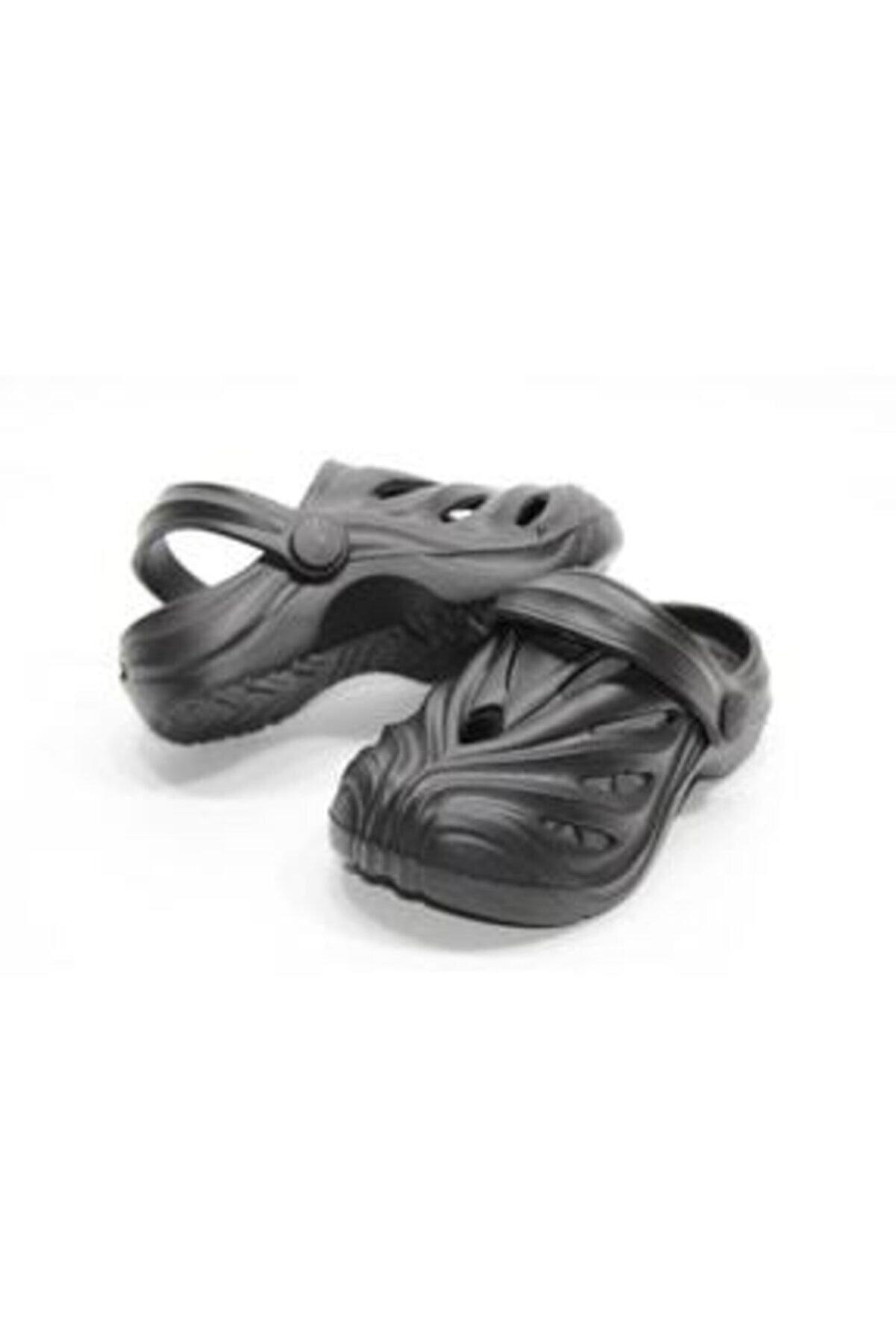 KAŞGAR Çocuk Terlik Sandalet Siyah