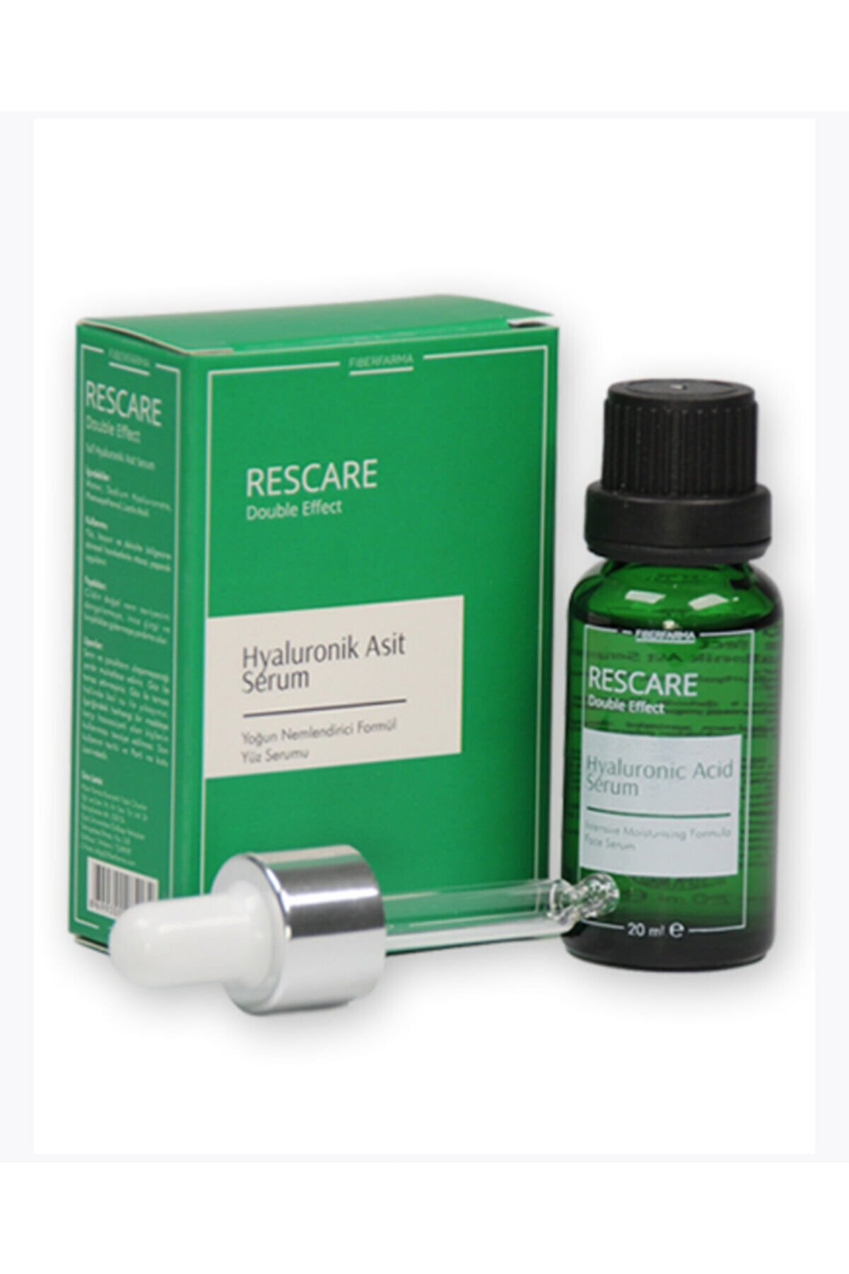 RESCARE Double Effect Hyaluronic Acid Serum