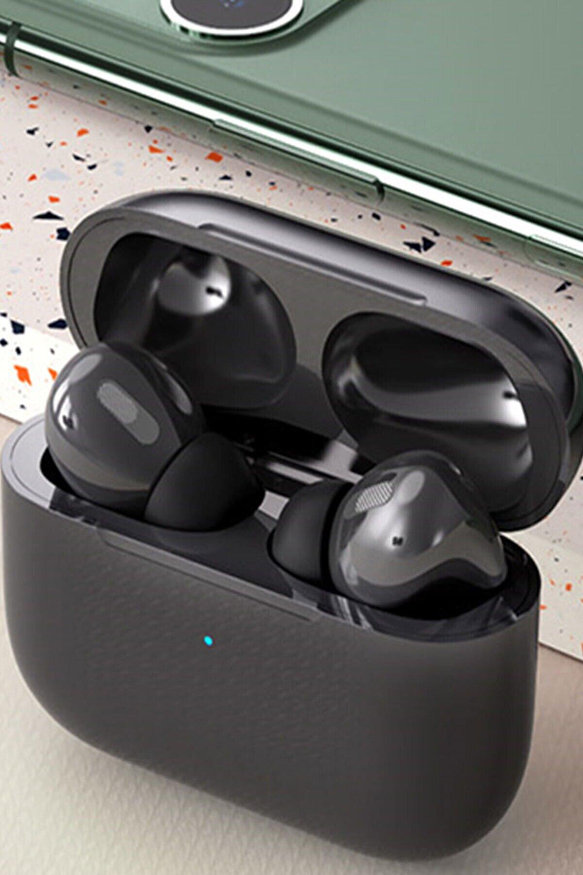 Ekalitem Airpods Pro 2. Nesil Tws Bt 5.0 Ios Android Uyumlu Siyah Bluetooth Kulaklık