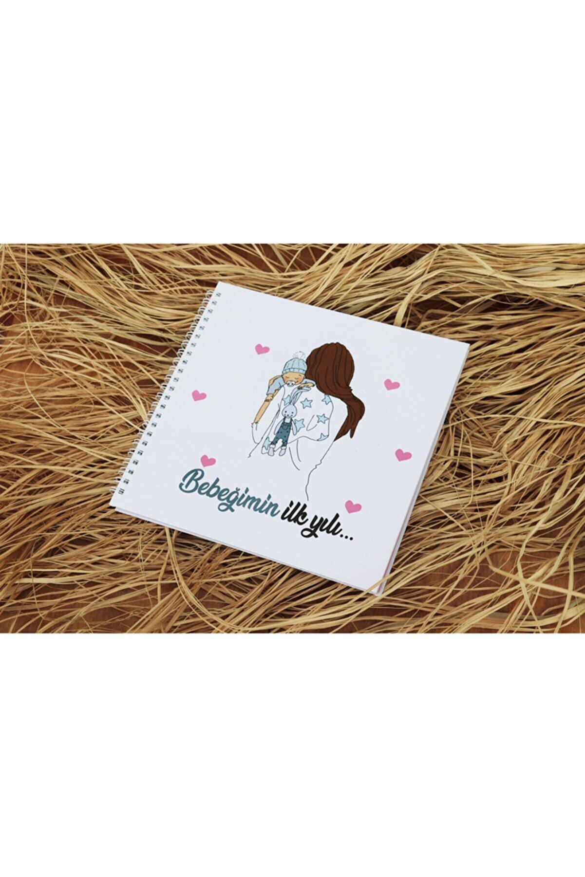PANDELA STORE Bebeğimin İlk Yılı Anne Bebek Anı Defteri