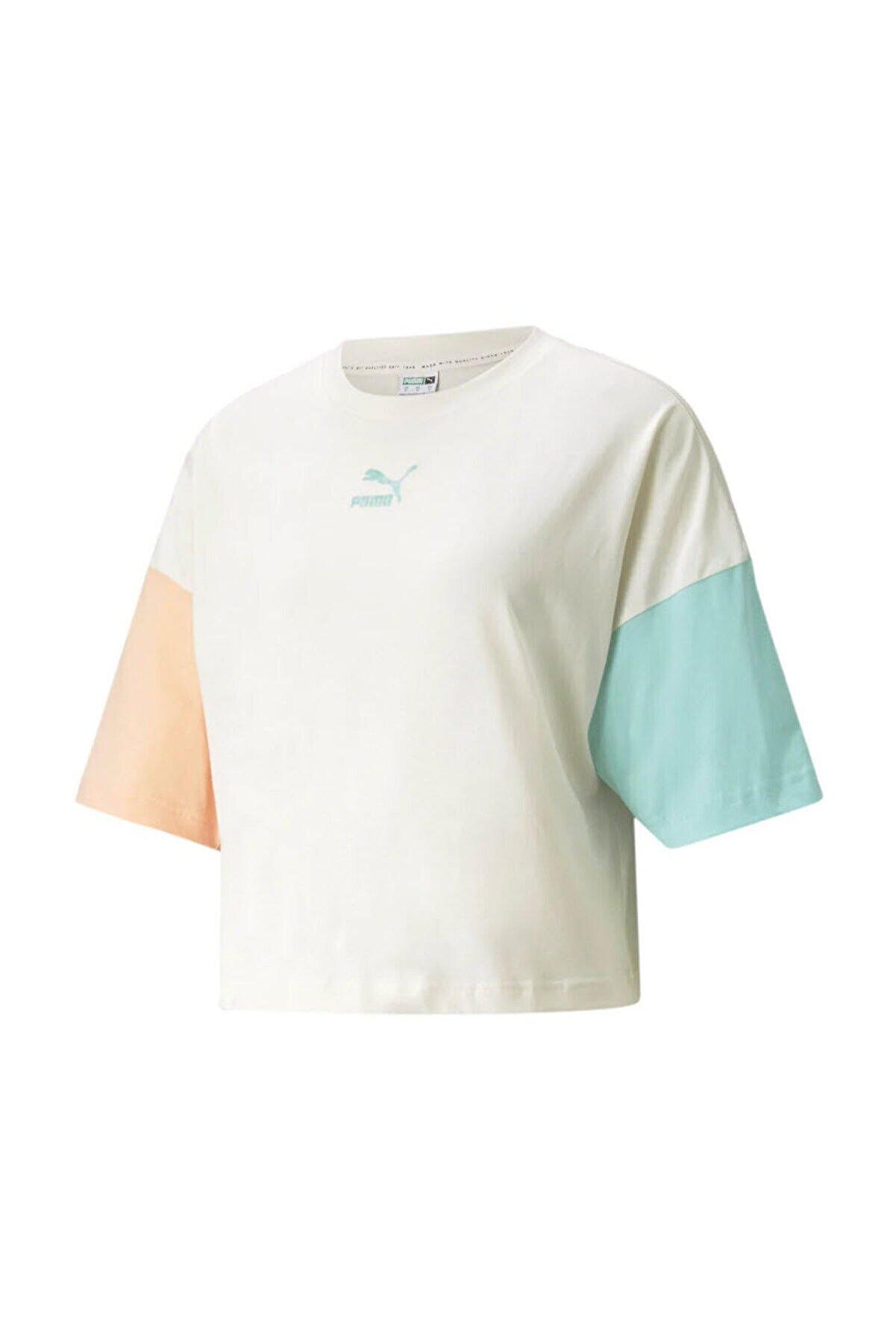 Puma Kadın Spor T-Shirt - CLSX Boyfriend - 53169688