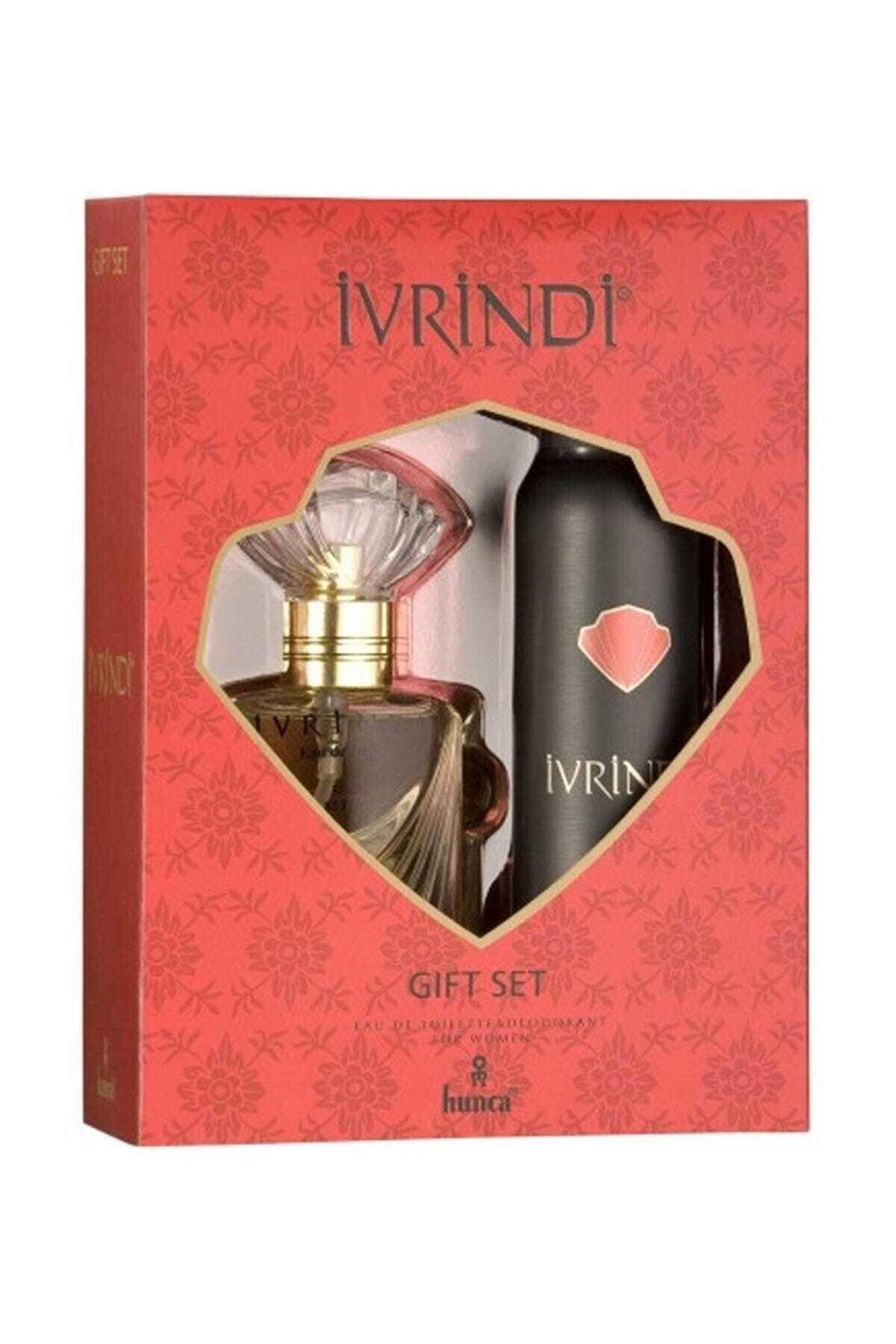 Ivrindi Edt 55 ml Deodorant 150 ml Kadın Parfüm Seti 8690973040879