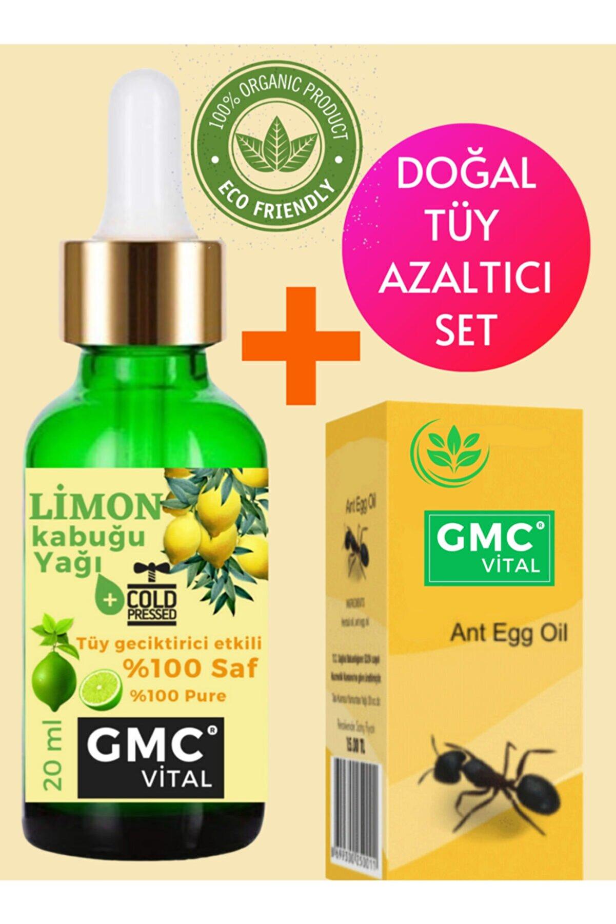 Gmc vital Tüy Dökücü Hassas Ciltler Için Limon Kabuğu Yağı + Karınca Yumurtası Yağı
