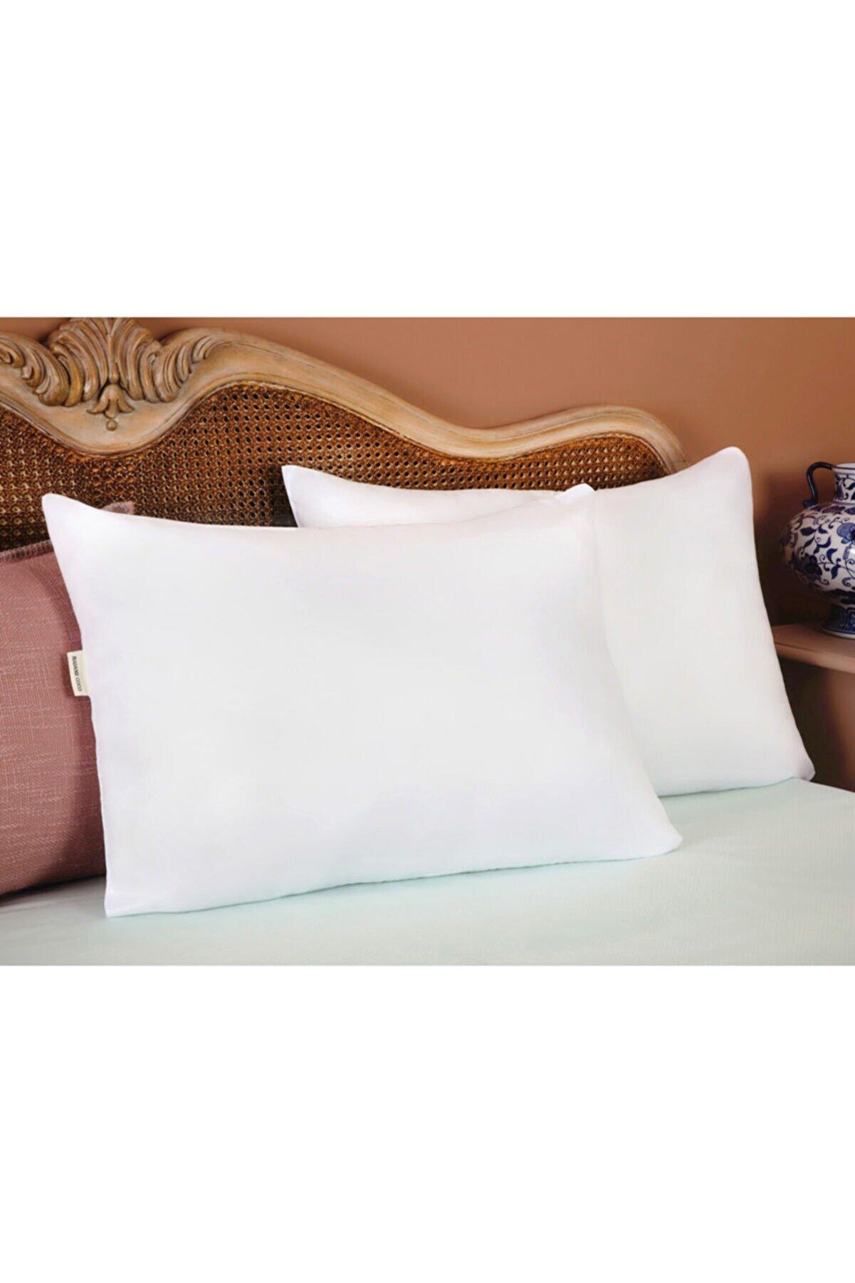 Madame Coco Arles 2'li Micro Yastık - Beyaz
