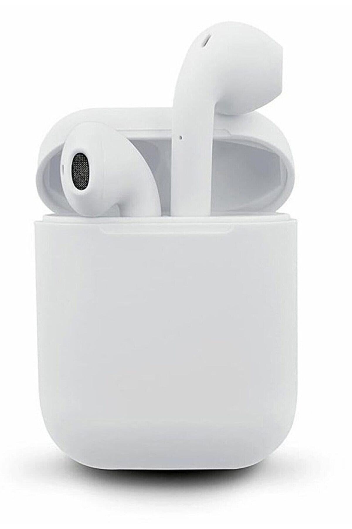 Sarftech I12 Tws Beyaziphone Android Universal Uyumlu Airpods 5.0 Bluetooth Kulaklık