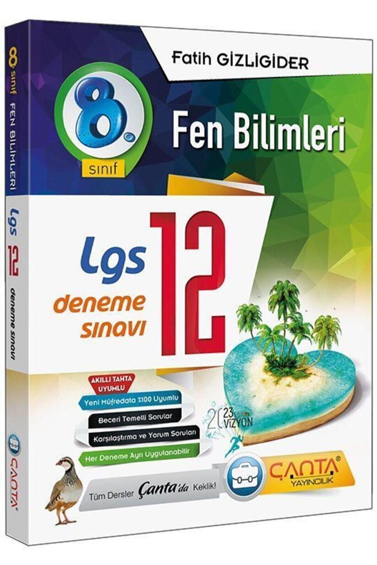 Çanta Yayınları 8 Sınıf Lgs Fen Bilimleri 12. Deneme