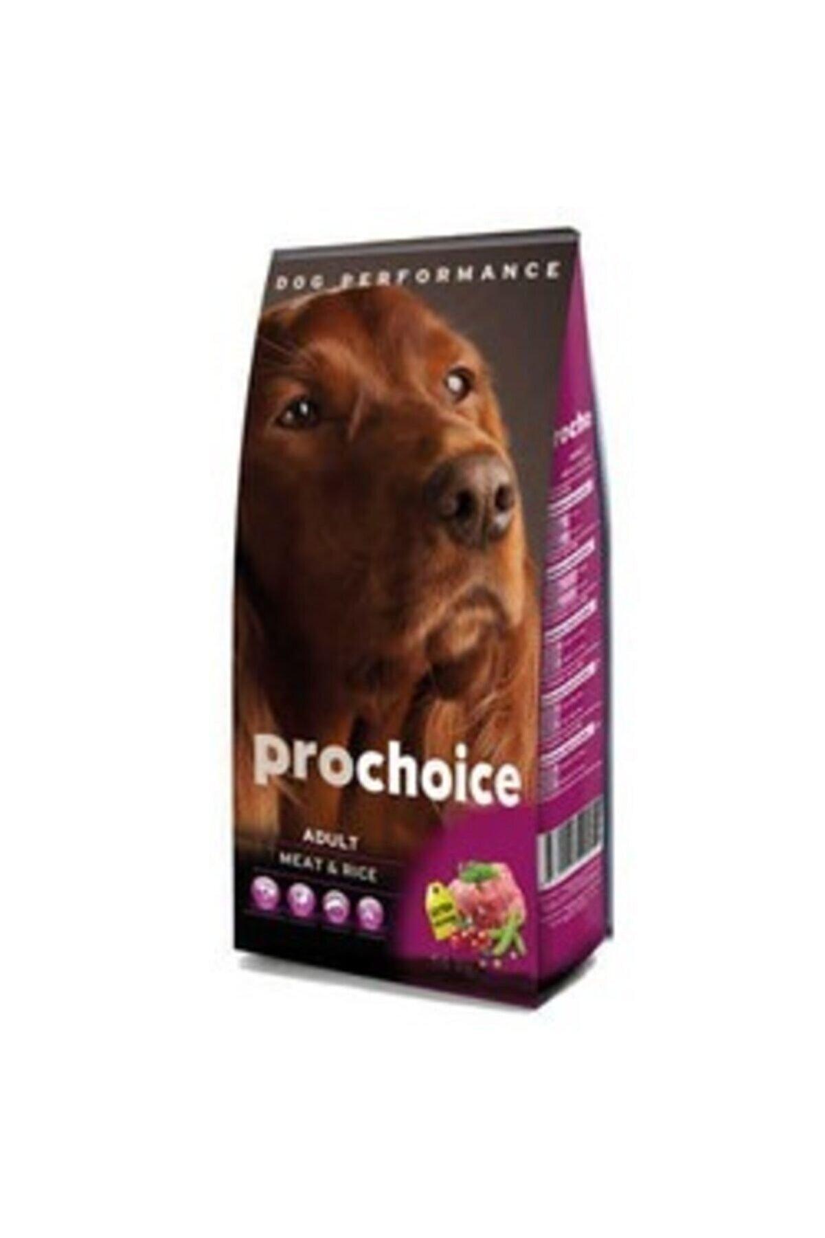 Pro Choice Dana Eti ve Pirinçli Yetişkin Köpek Maması 12 kg