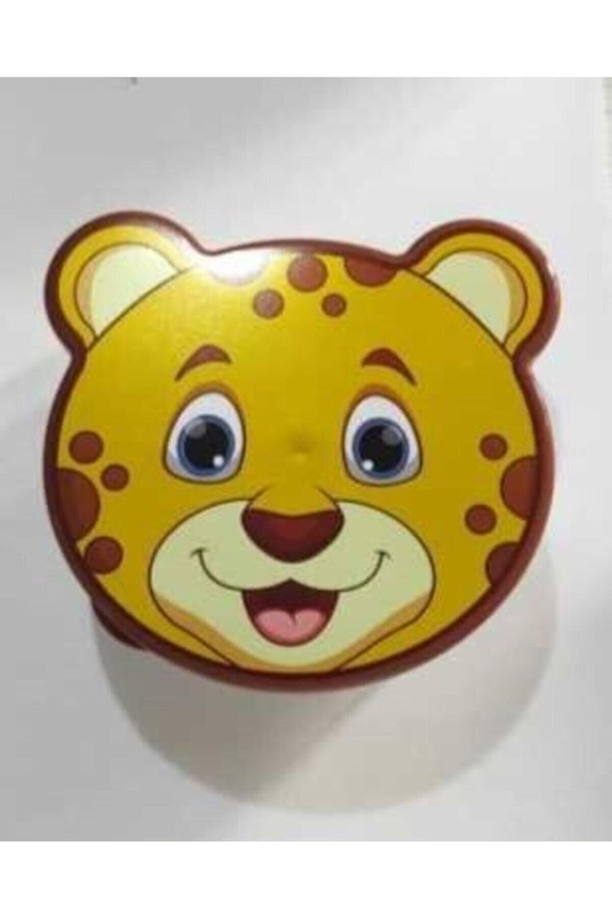 Arrita Home Hobby Life Zoo Hayvan Figürlü Saklama Kabı 4'lü Set Sarı Kaplan Desenli