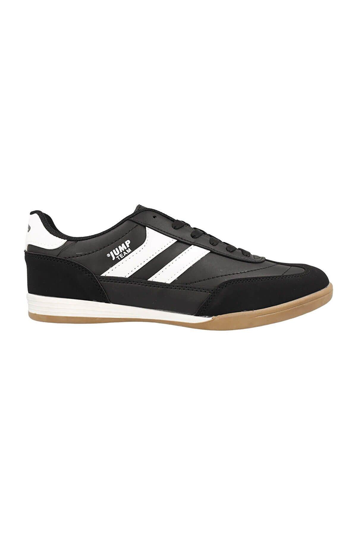 Jump Erkek Salon Futbolu Ayakkabısı 18089 Siyah-beyaz 10s0418089