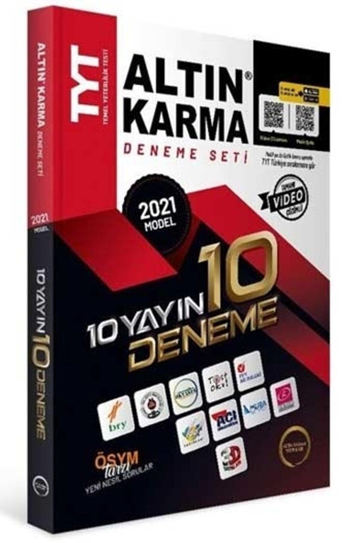 Altın Karma Yayınları Tyt 10'lu Deneme 2021