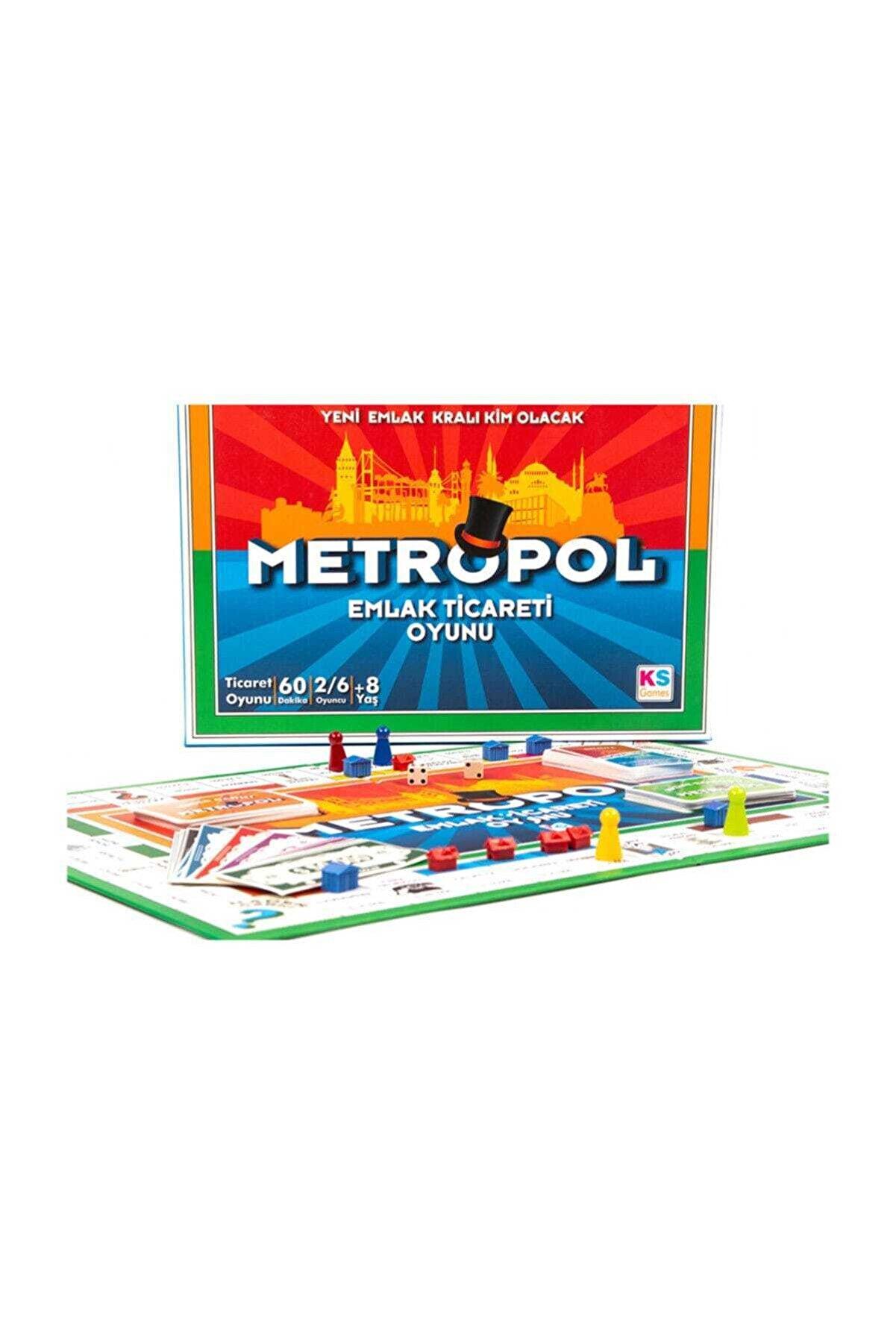 Ks Games Ks Game Metropol Emlak Ticareti Oyunu T127