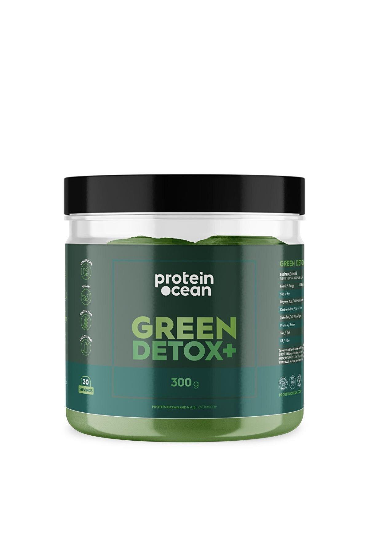 Proteinocean Green Detox+™ 300g 30 Servis
