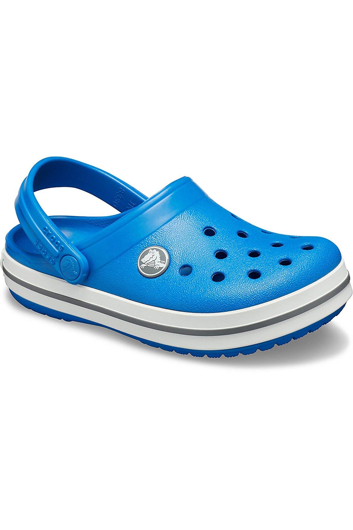 Crocs Crocband Clog K - Unisex Çocuk Mavi  Spor Sandalet