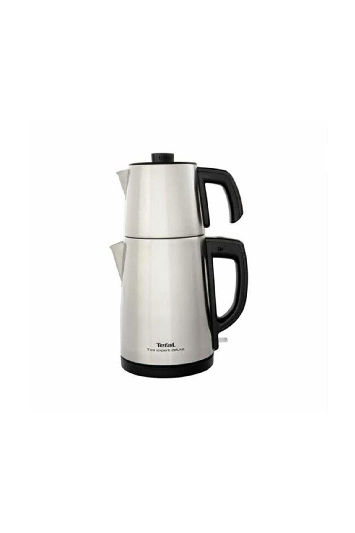 TEFAL Tea Expert Deluxe Inox Çelik Çay Makinesi, Xl Kapasite, Bj5098tr