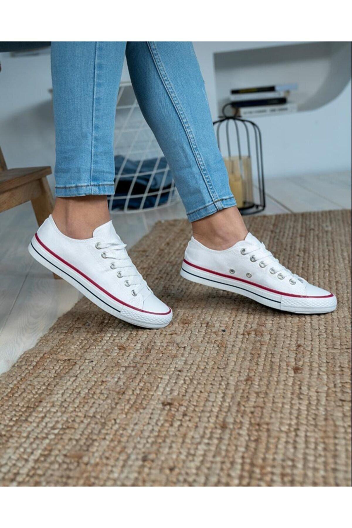 wemodaa Unisex Beyaz Spor Ayakkabı