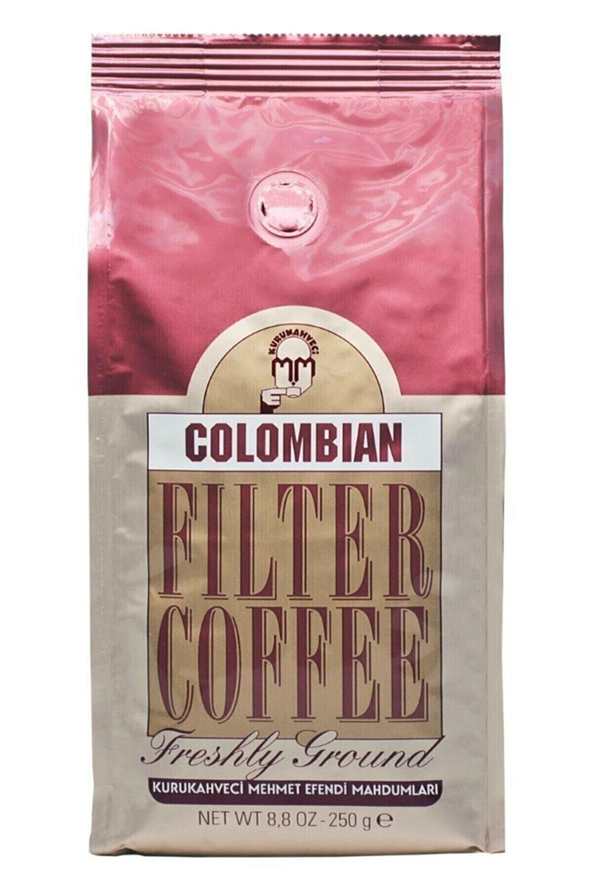 Mehmet Efendi Colombian Filtre Kahve Kolombiya 250 gr