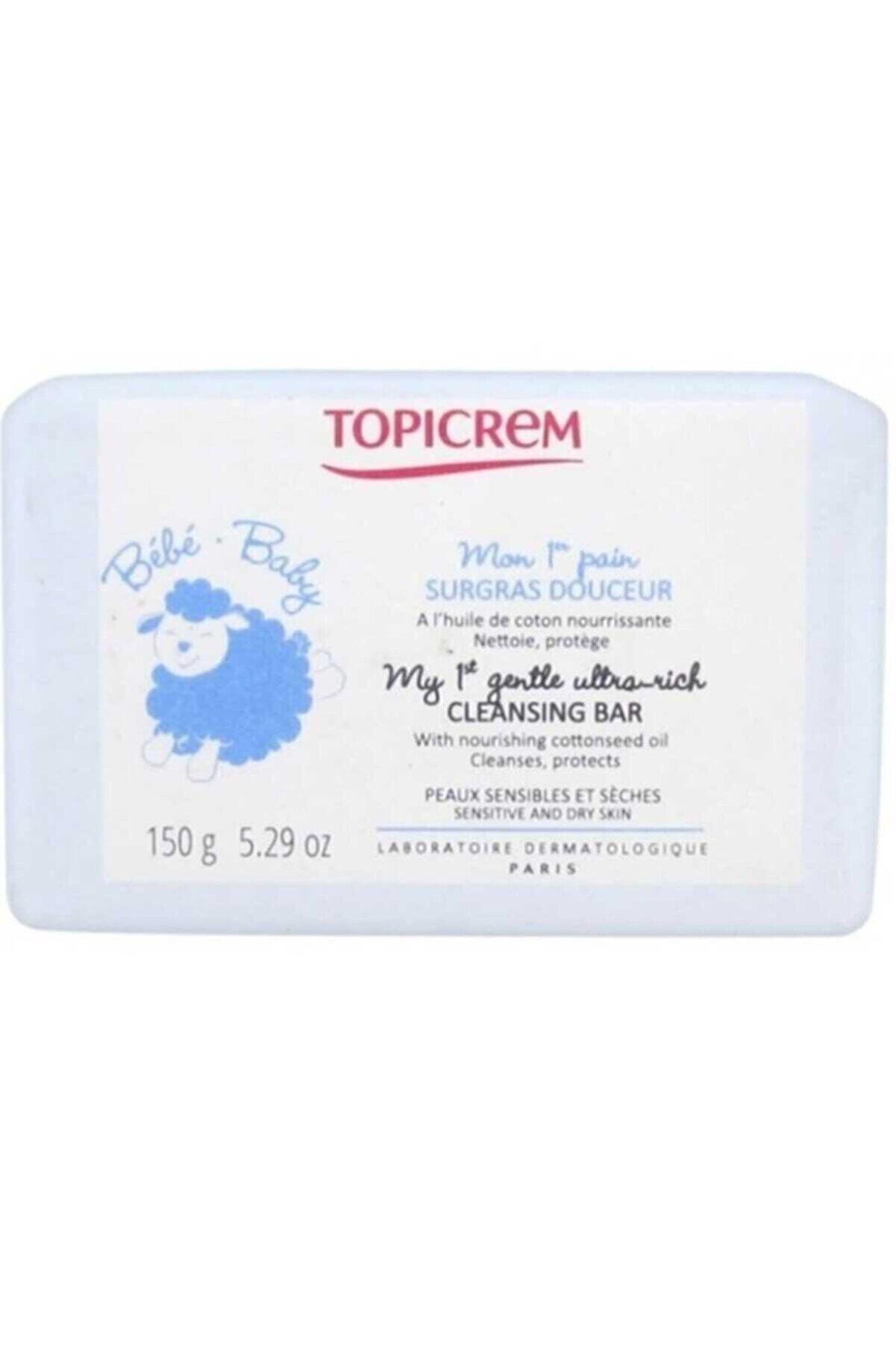 Topicrem Gentle Ultra Rich Cleansing Bar 150 gr