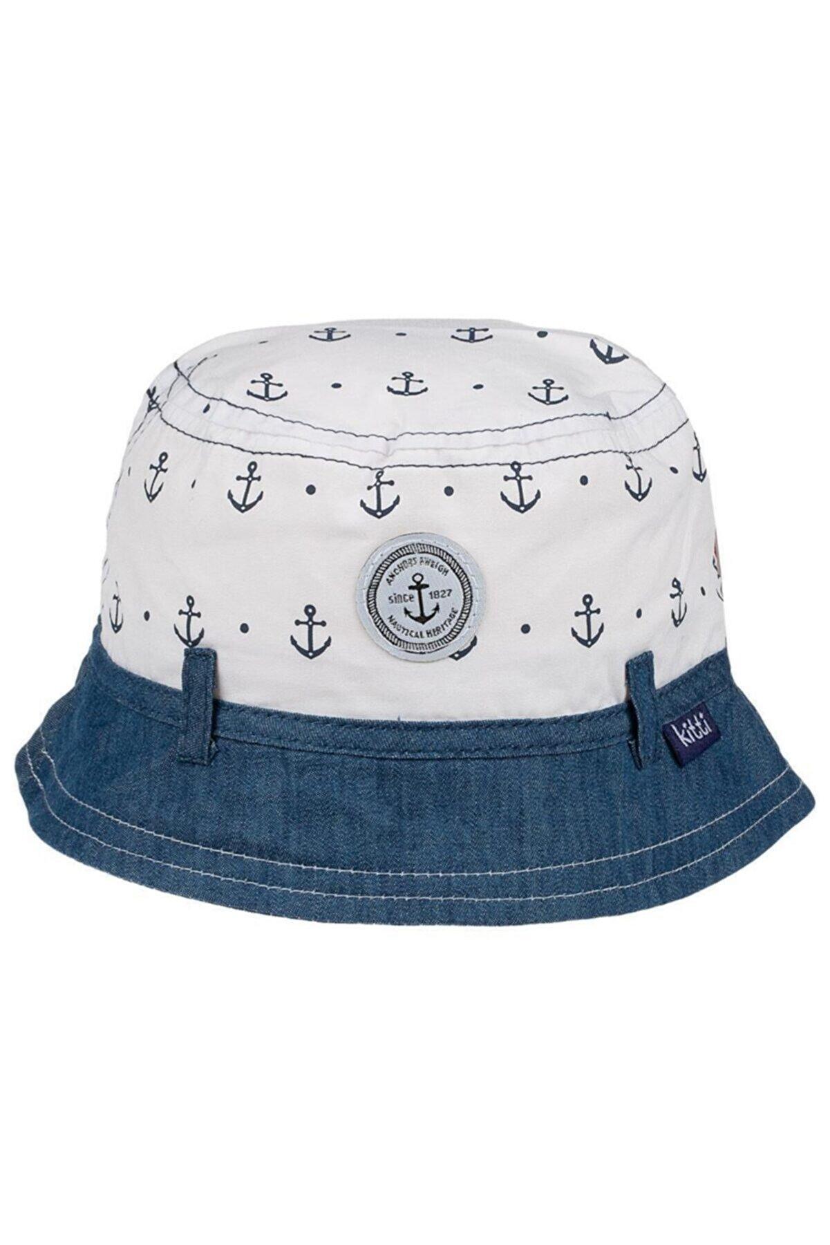 POKY BEBE Erkek Çocuk Şapka Fötr 1-4 Yaş Navy