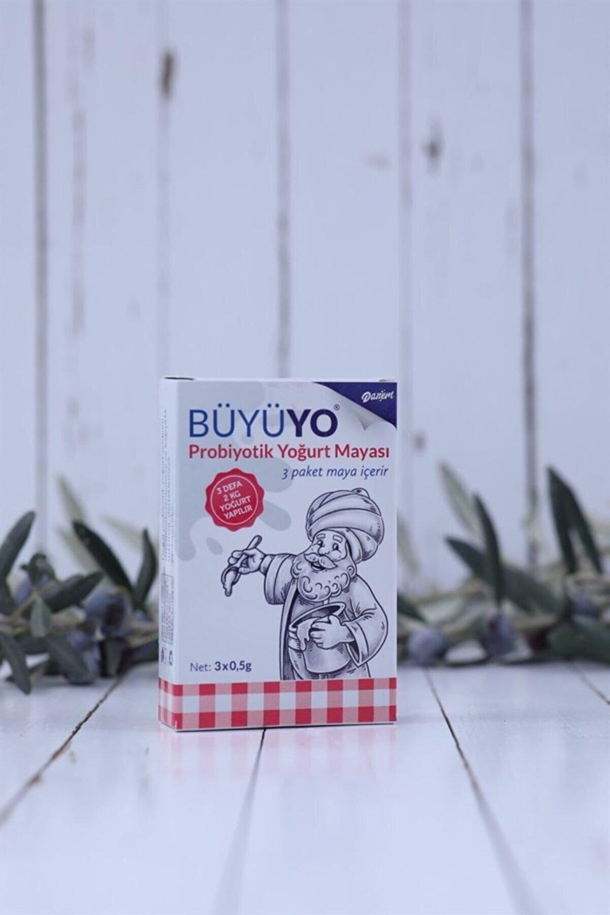 Danem Büyüyo - Doğal Probiyotik Yoğurt Mayası 3 X 0.5 Gr