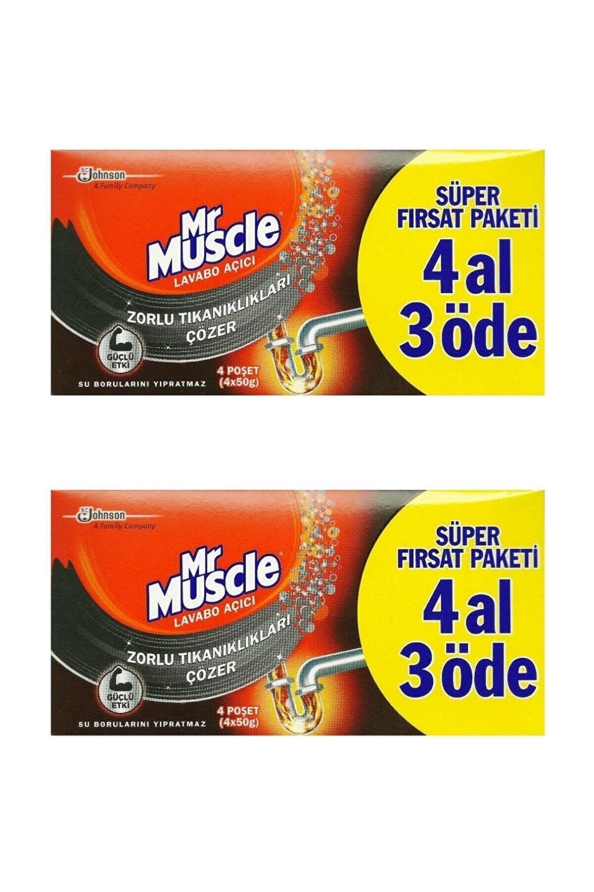 Johnson Mr. Muscle Mr Muscle Lavabo Açıcı 4 Al 3 Öde - 2 Paket