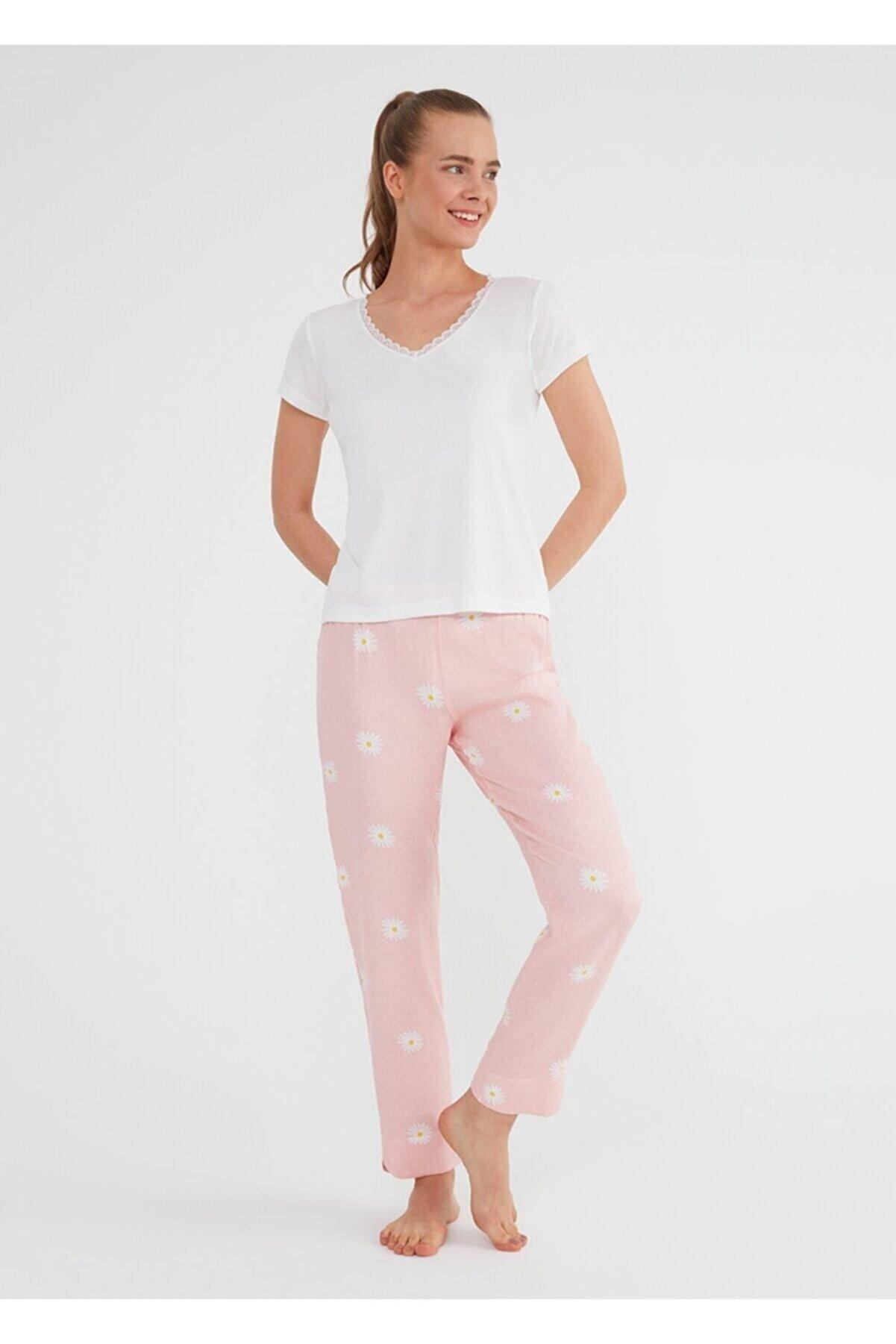 Suwen Daisy Pijama Takımı