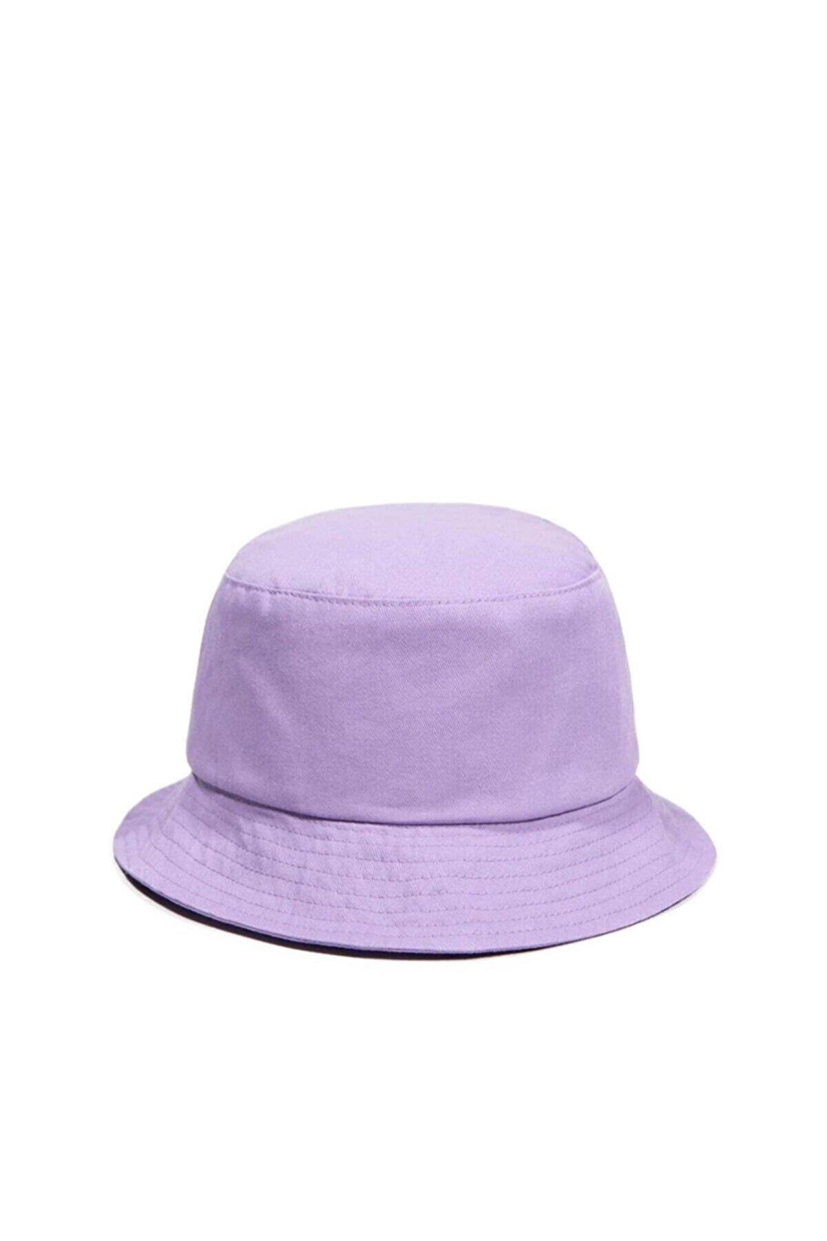 Güce Unisex Lila Balıkçı Bucket Şapka Gc013920