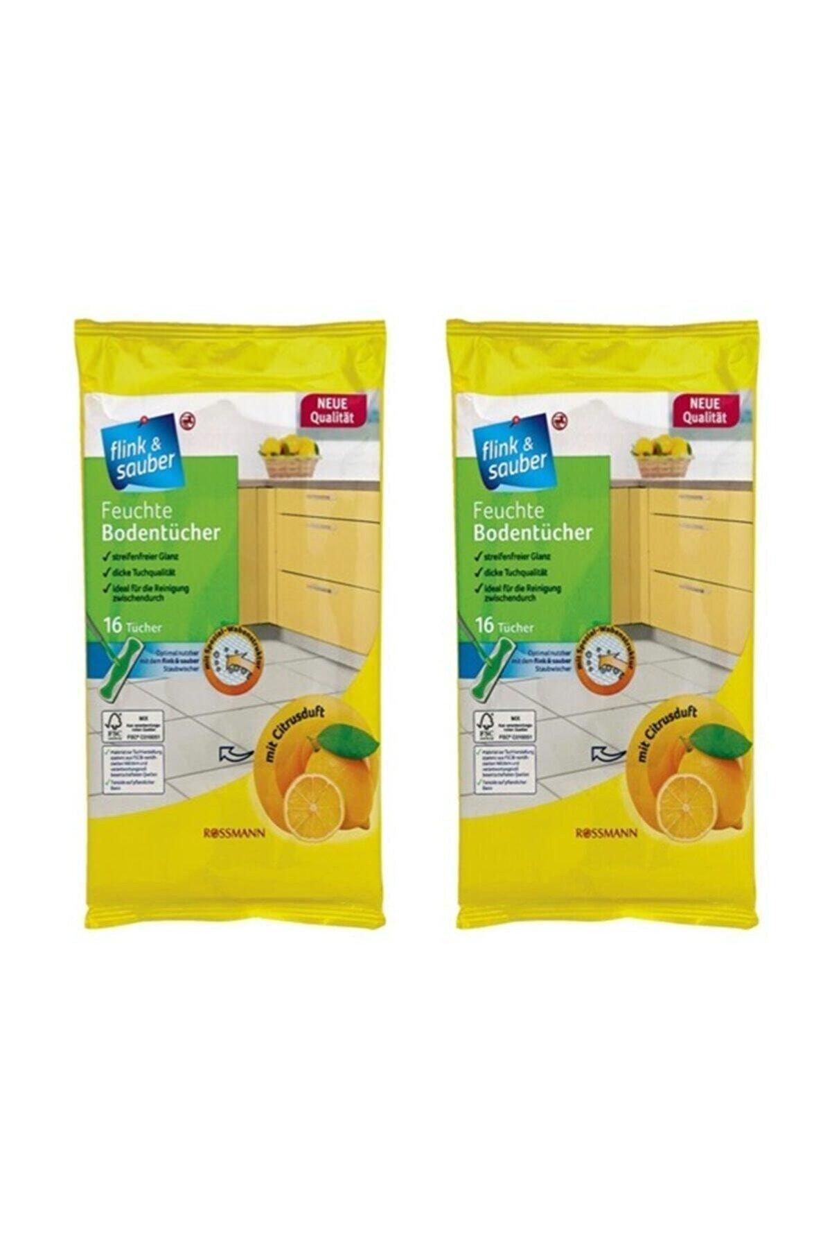 Domol Flink Sauber Yer Bezi Limon Vegan X 4 Adet