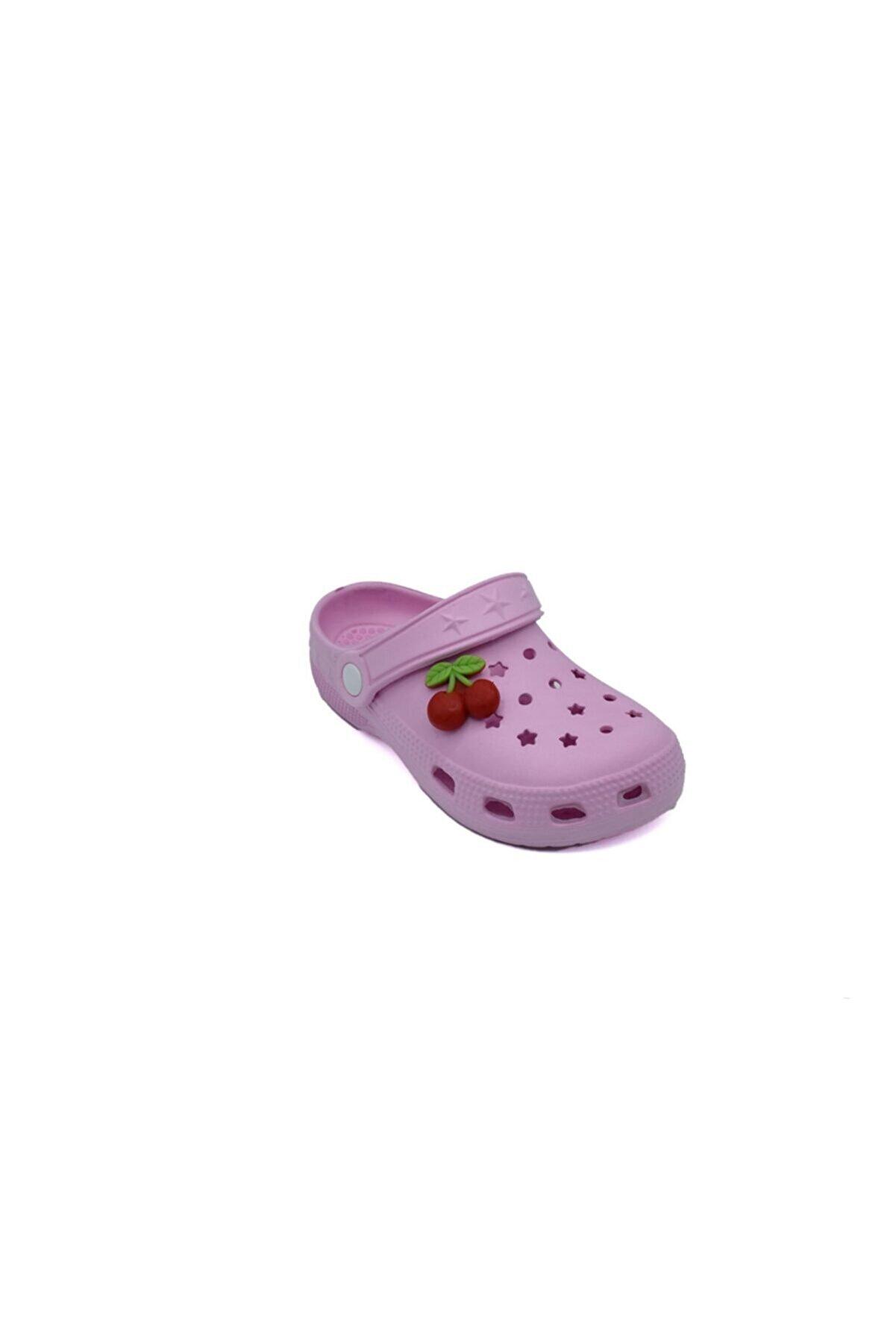 ODESA AYAKKABI MARKET Kız Çocuk Meyveli Yumuşak Taban Sandalet Terlik