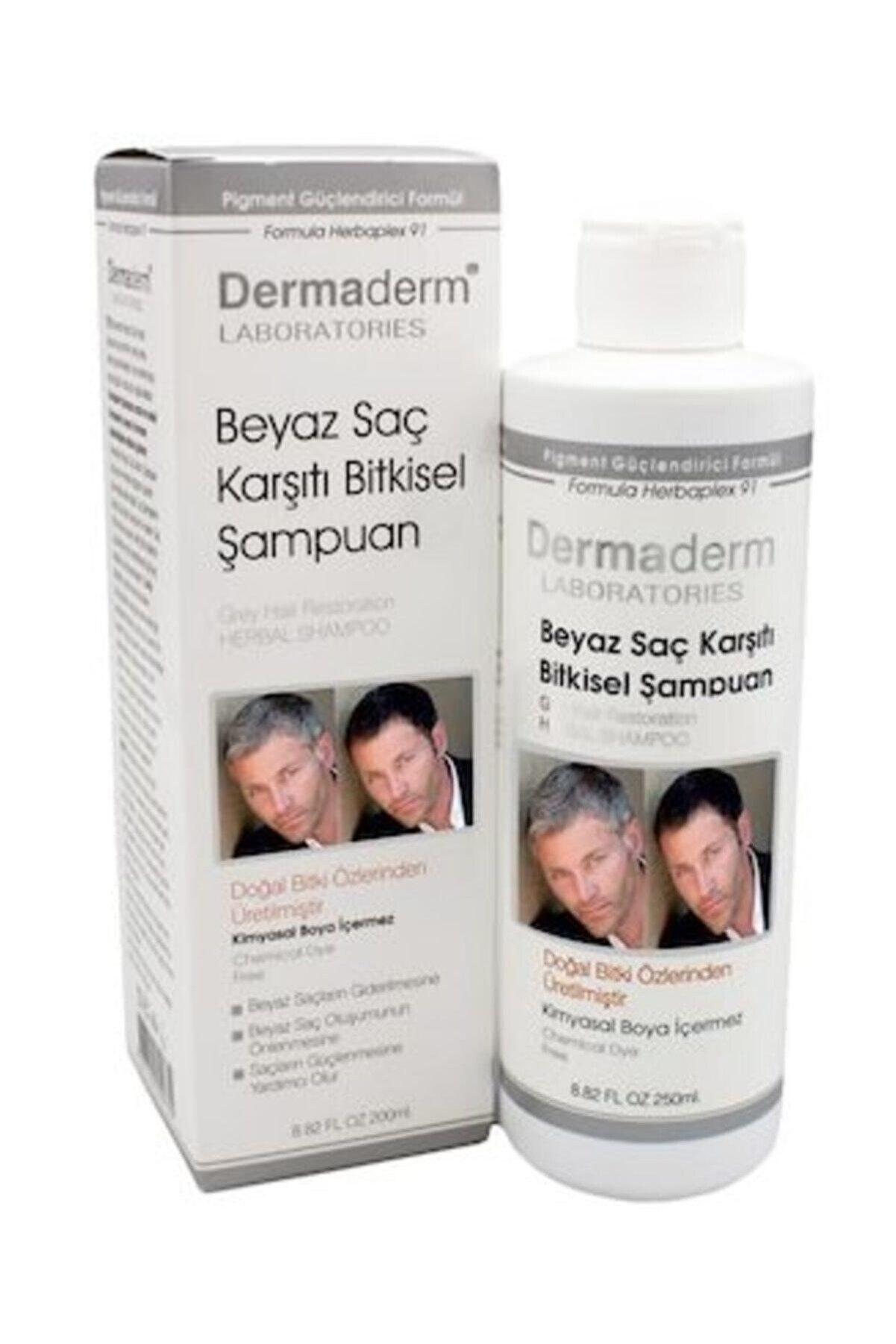 DermaDerm Beyaz Saç Karşıtı Bitkisel Şampuan 250 ml