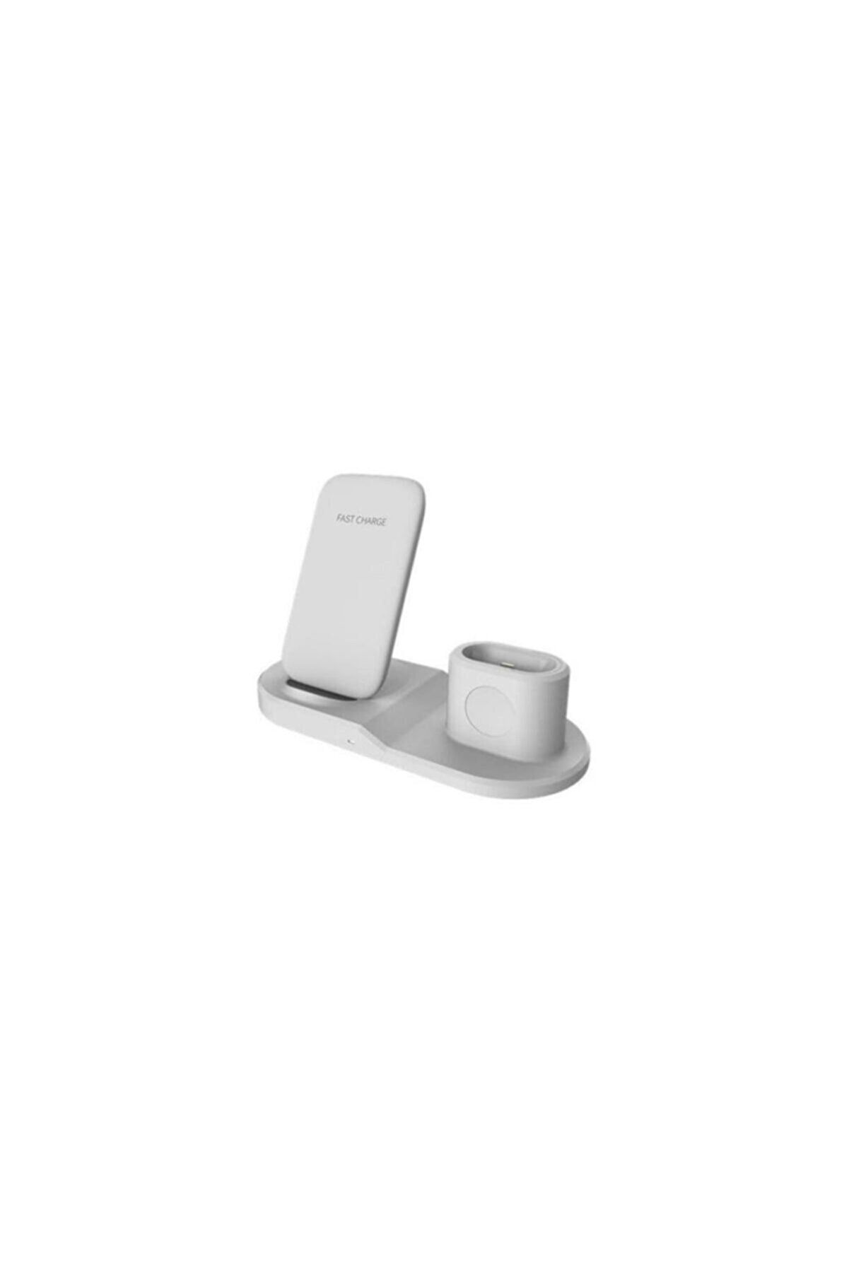 Techmaster 3in1 10w Kablosuz Iphone Airpods Apple Watch Şarj Standı Ojd-45