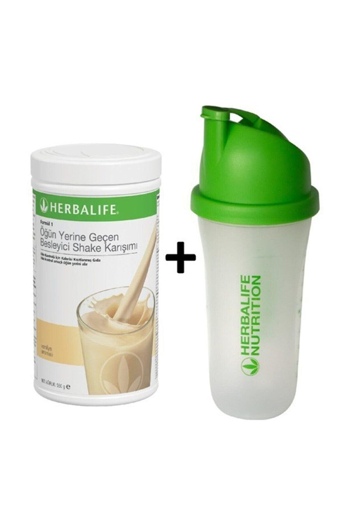 Herbalife Formül 1 Shake 550 gr + Shaker Hediye
