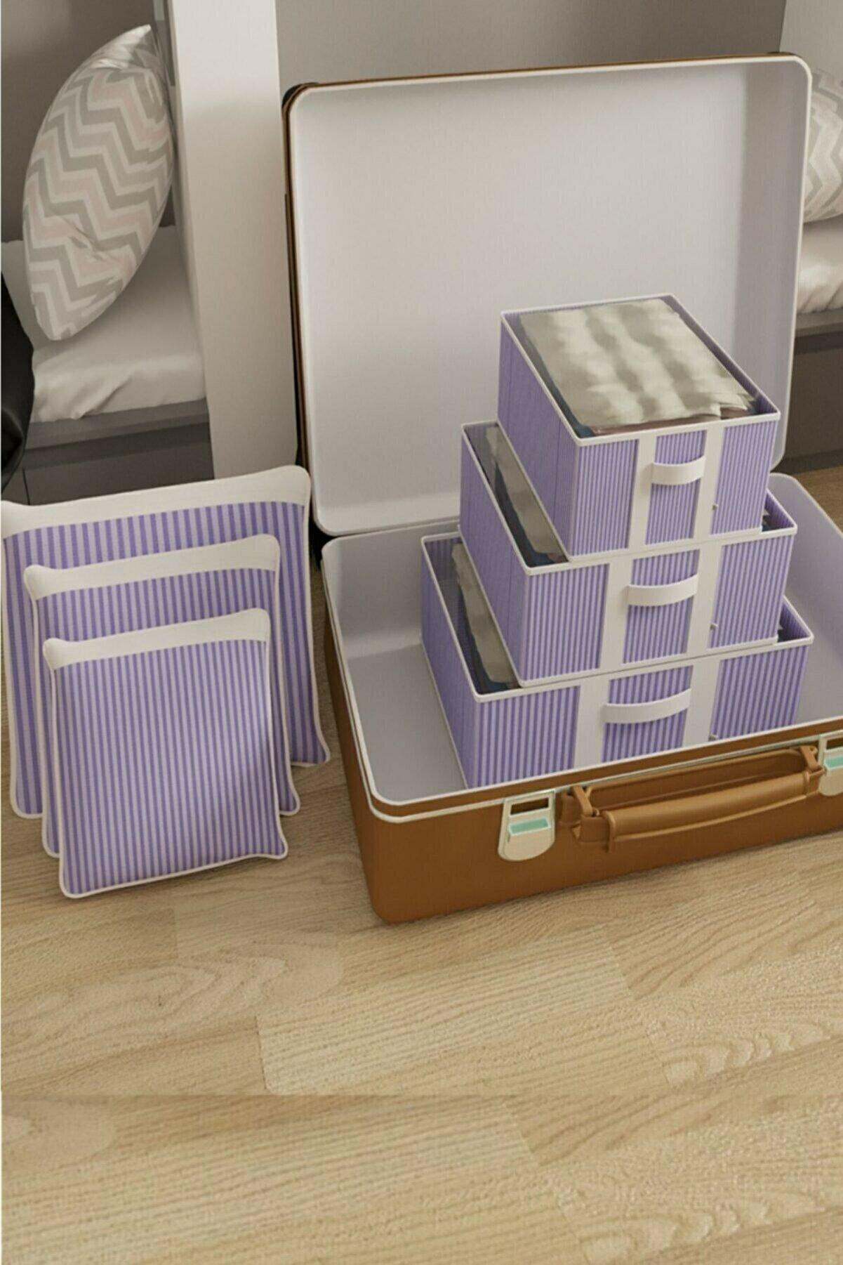 Vivyan Bavul İçi Düzenleyici Organizer 6'Lı Set