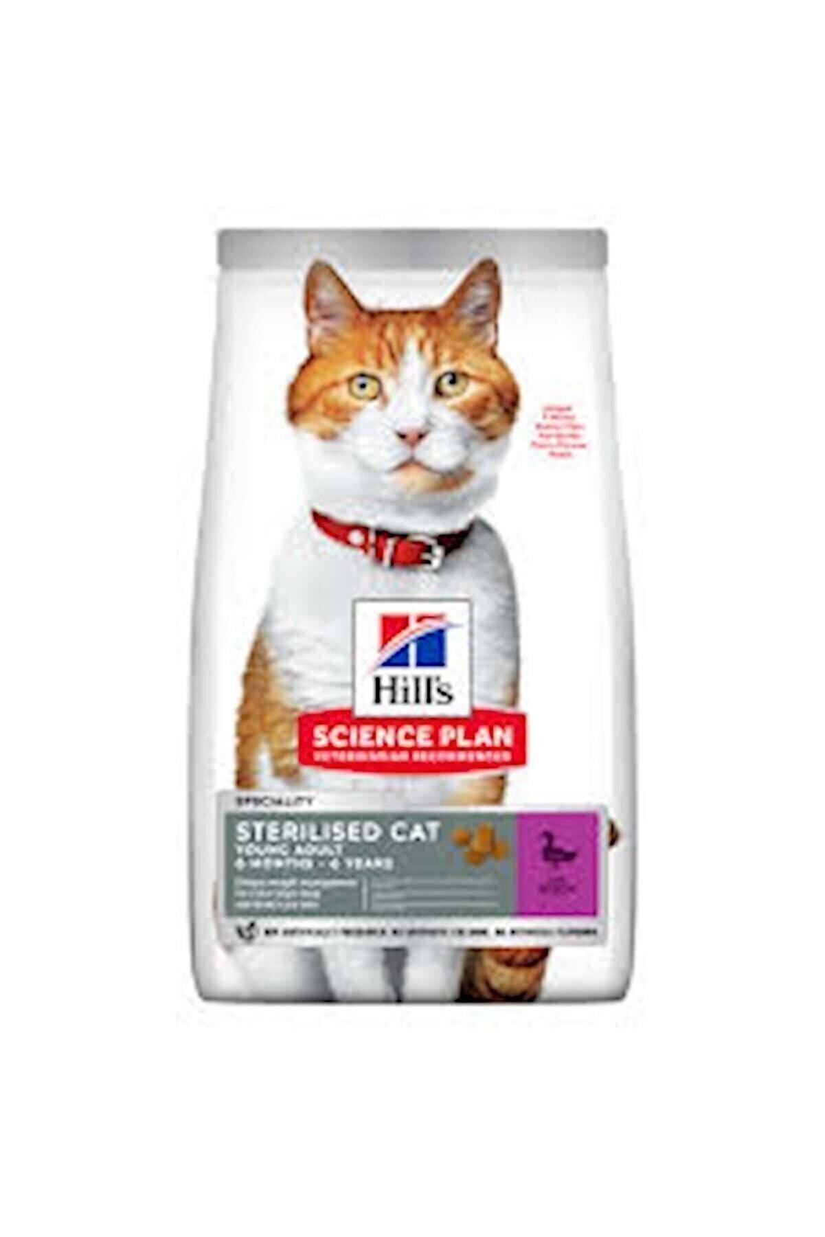 Hills Science Plan Hill's Science Plan Genç Yetişkin Ördekli Kısır Kedi Maması 1,5 Kg