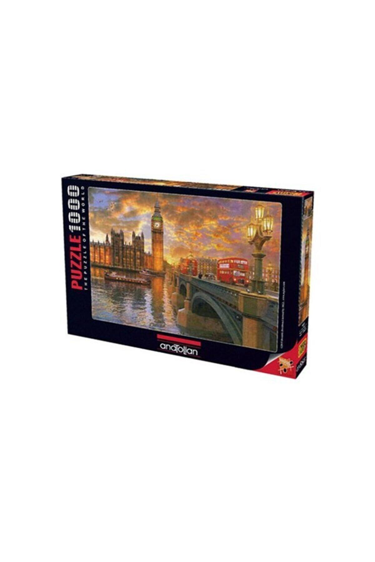 Anatolian Puzzle Londra'da Günbatımı Westminster Sunset Ana.1023 1000 Pcs