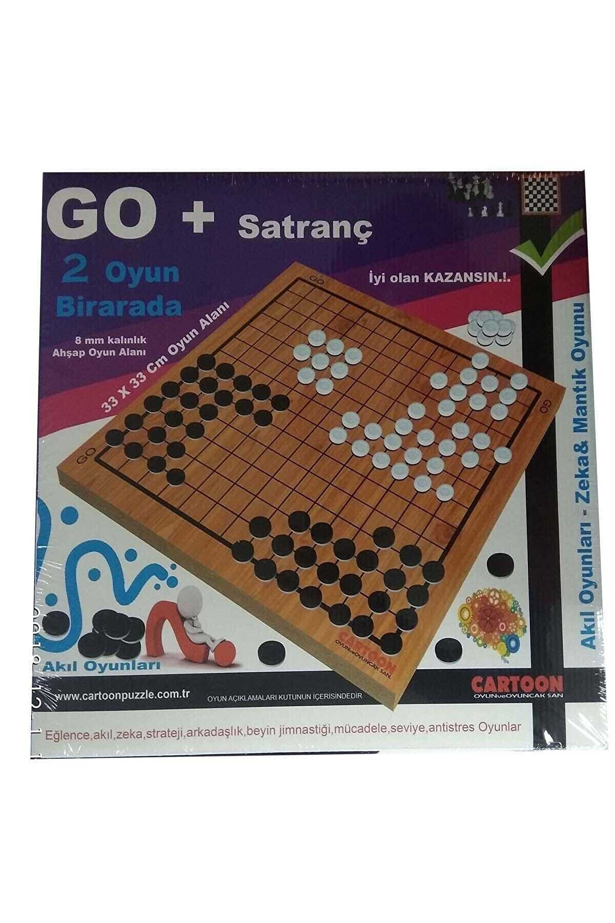 CARTOON Oyuncak Aile Oyunu Go + Satranç /