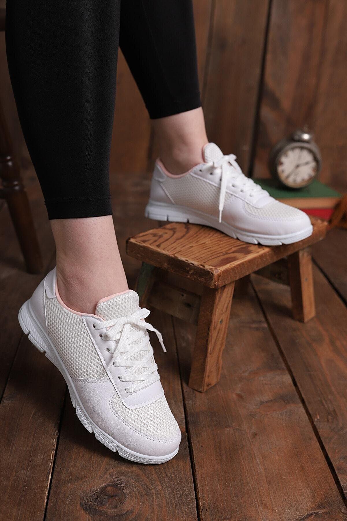 pasyone Kadın Beyaz Ayakkabı