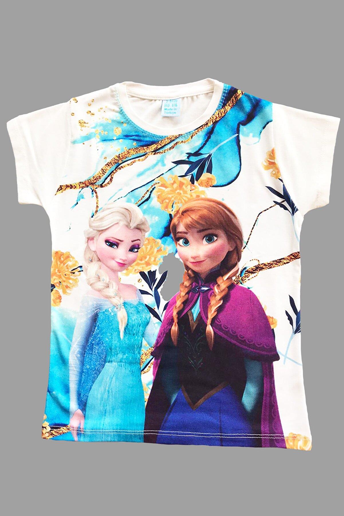 TuYu Frozen Kız Çocuk  T-Shirt
