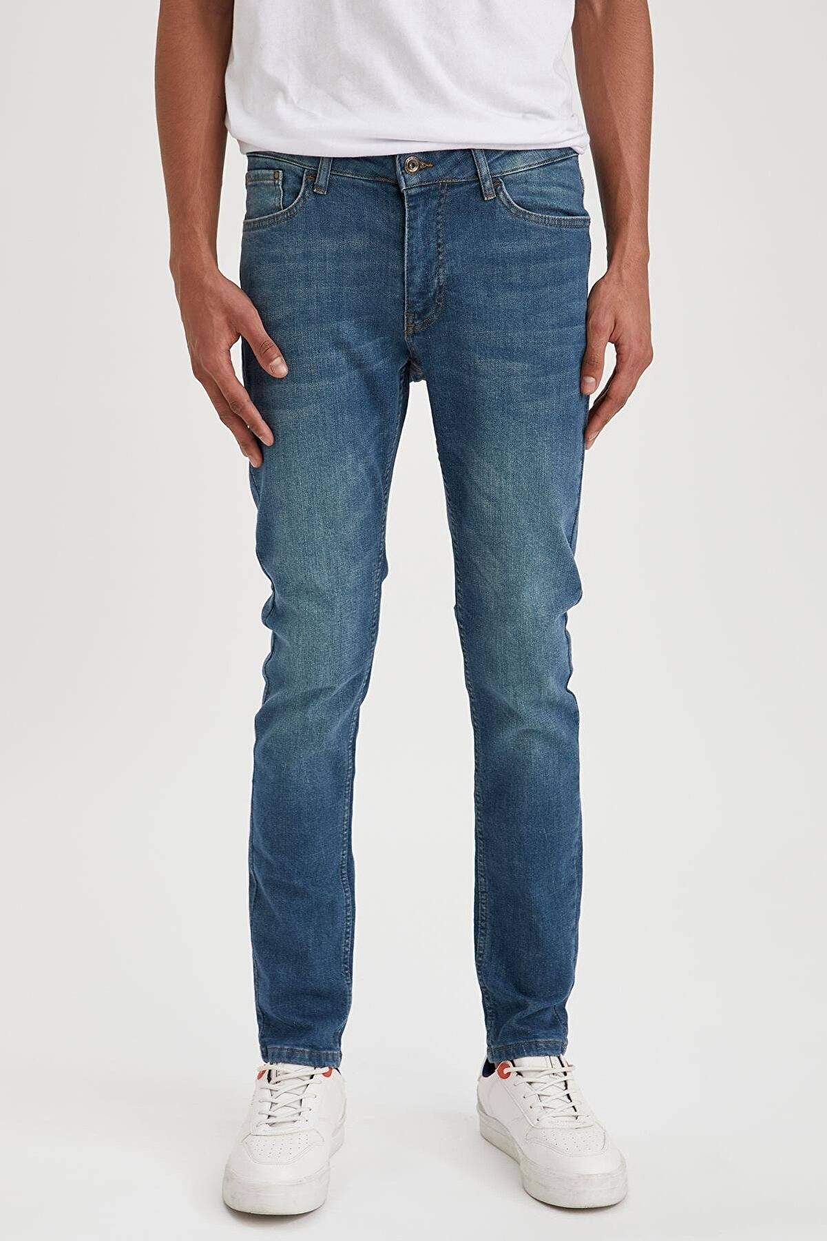 Defacto Martin Super Skinny Fit Düşük Bel Dar Paça Jean Pantolon