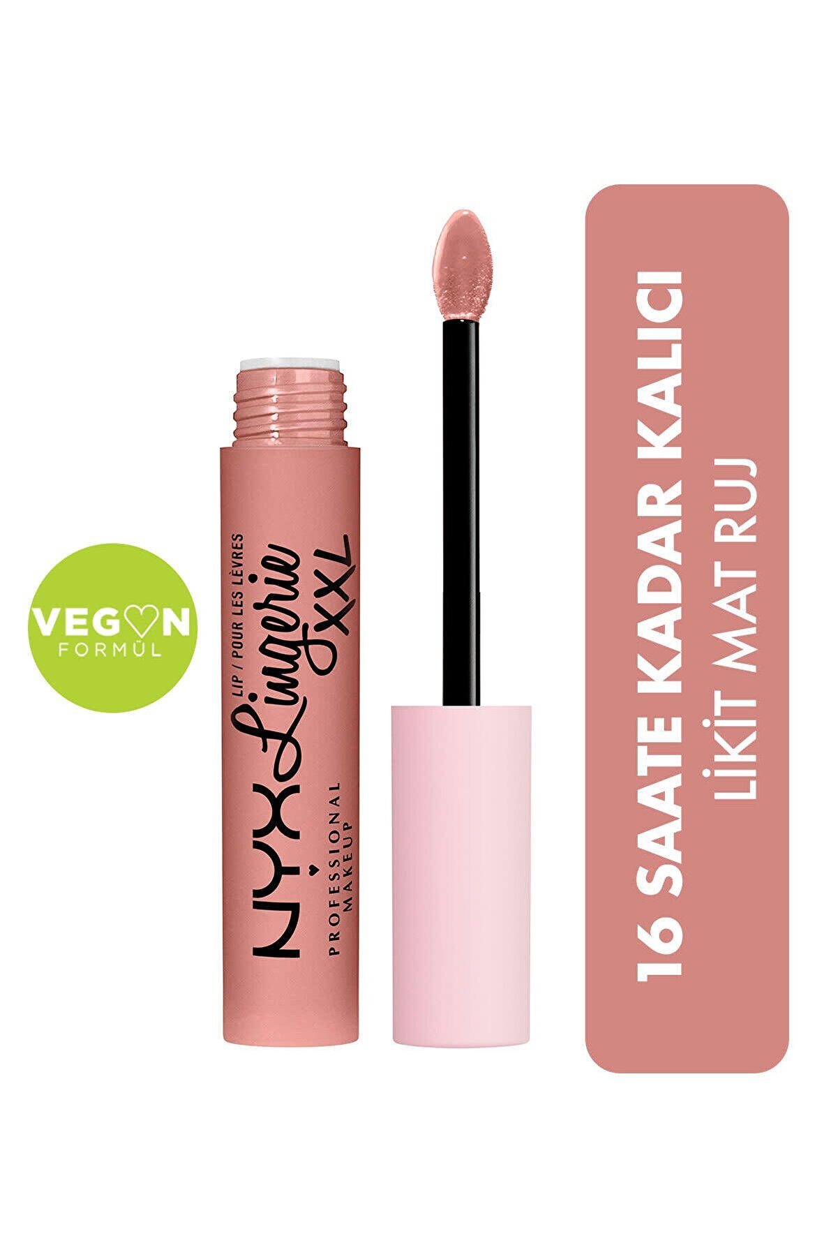 NYX Professional Makeup Likit Mat Ruj - Lip Lingerie Xxl Matte Liquid Lipstick Undressed