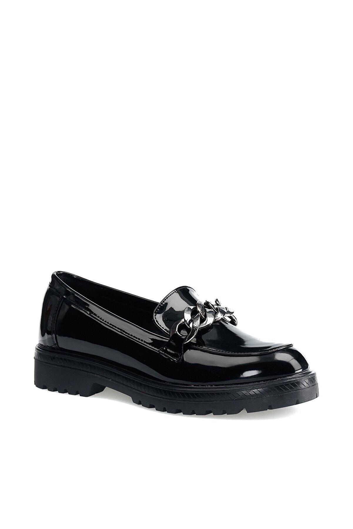 Butigo Siyah Kadın Loafer Ayakkabı
