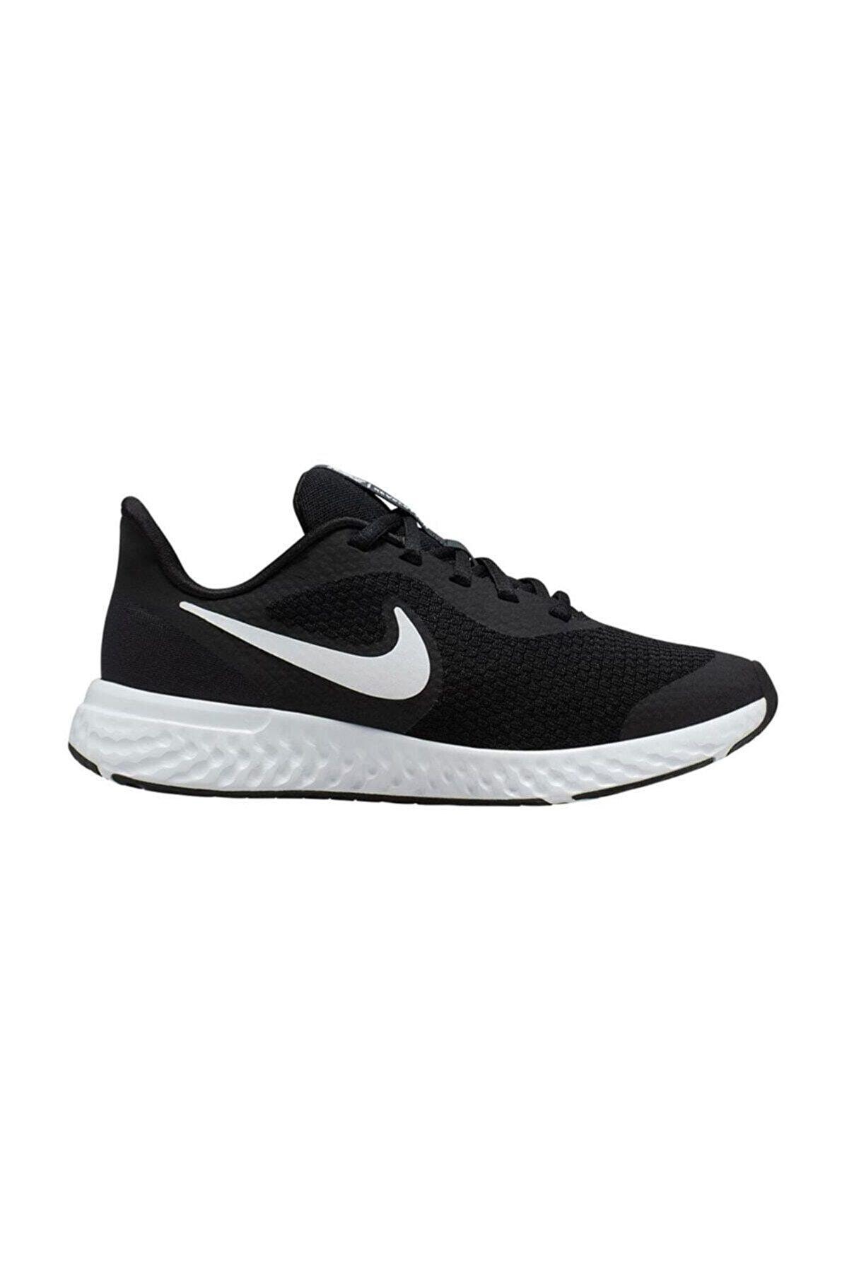 Nike Revolution 5 Kız Çocuk Siyah Bağçıklı Yürüyüş Ayakkabısı