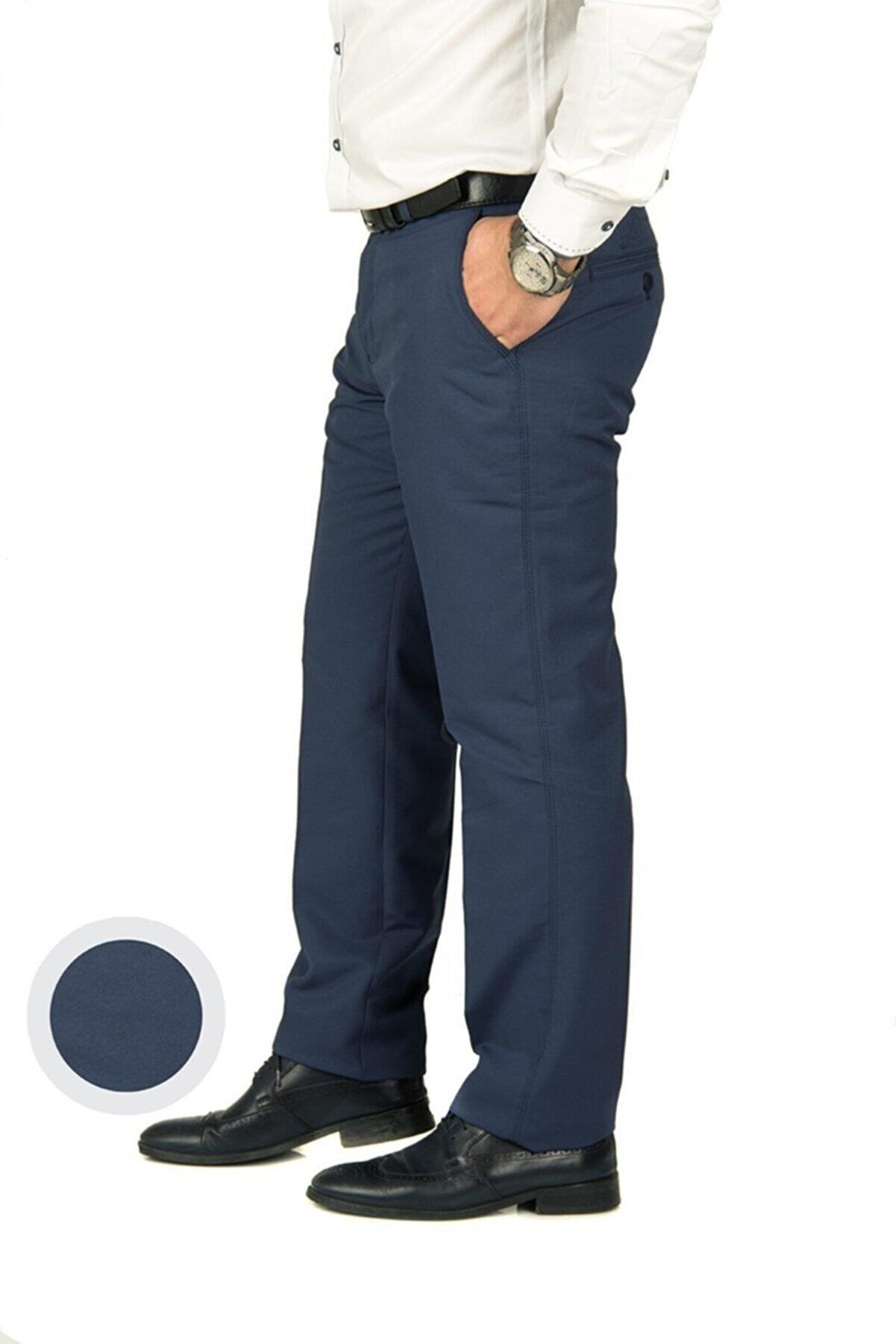 wontilotte Erkek Armüllü K.indigo Yazlık Keten Pantolon(8)