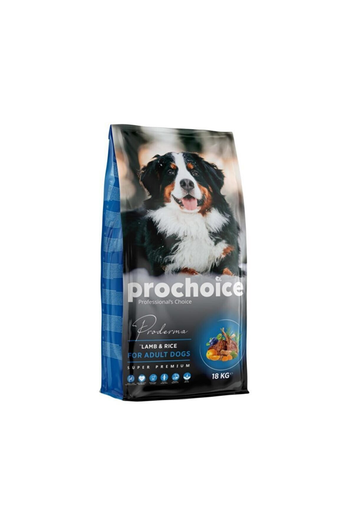 Pro Choice Proderma Kuzu Eti ve Pirinçli Köpek Maması 18 kg